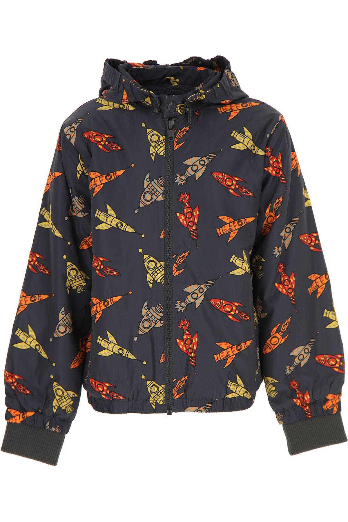 Stella McCartney Boys Down Jacket for Kids, Puffer Ski Jacket On Sale, Grey, polyester, 2019, 10Y 12Y 14Y 2Y 3Y 5Y 6Y 8Y