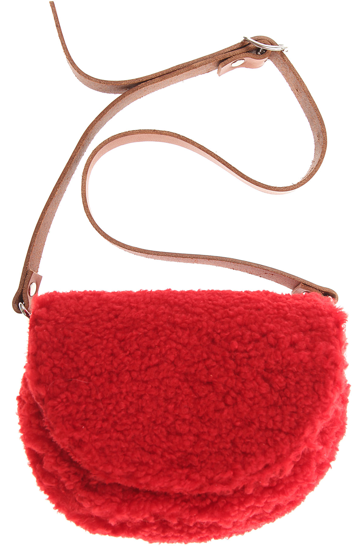 Image of Il Gufo Girls Handbag, Red, Leather, 2017