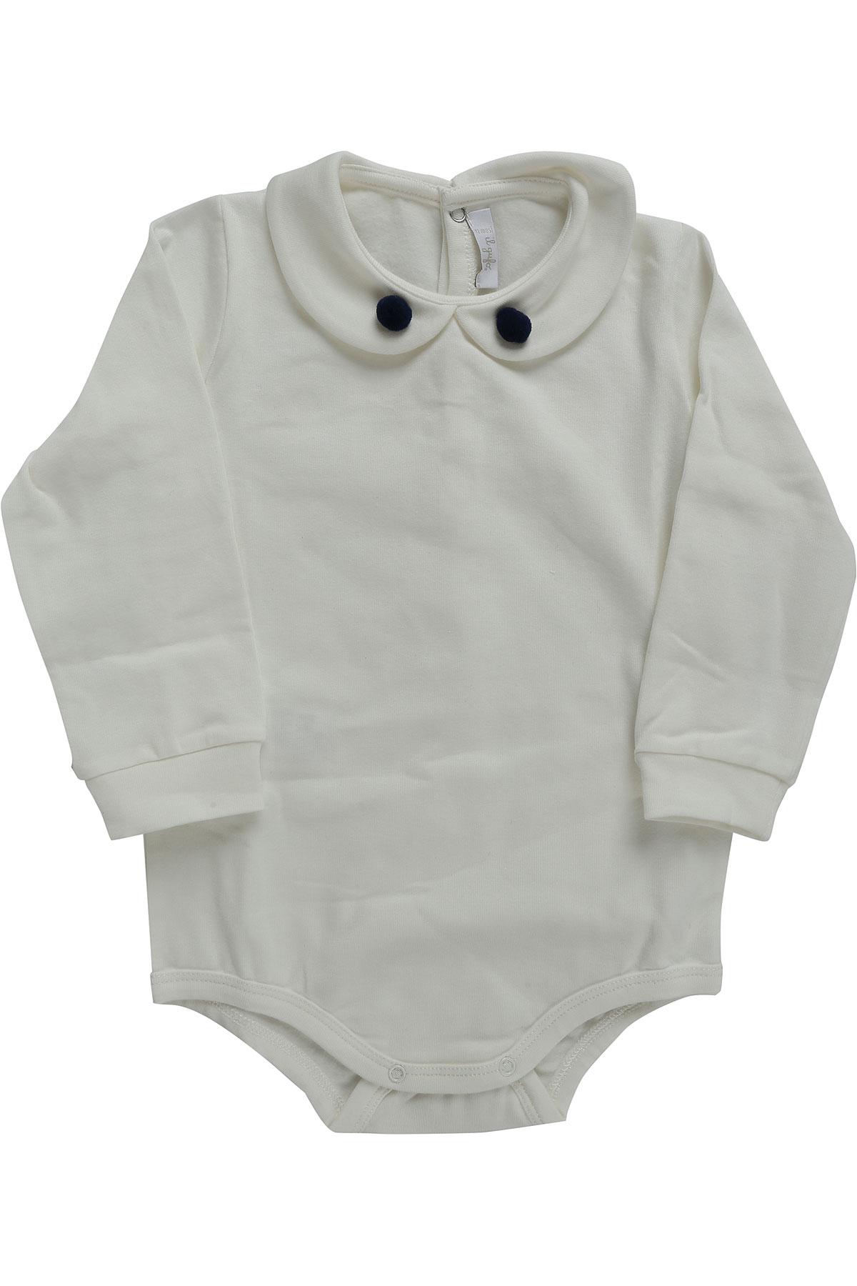 Image of Il Gufo Baby Suits On Sale, White, Cotton, 2017, 12M 6M 9M