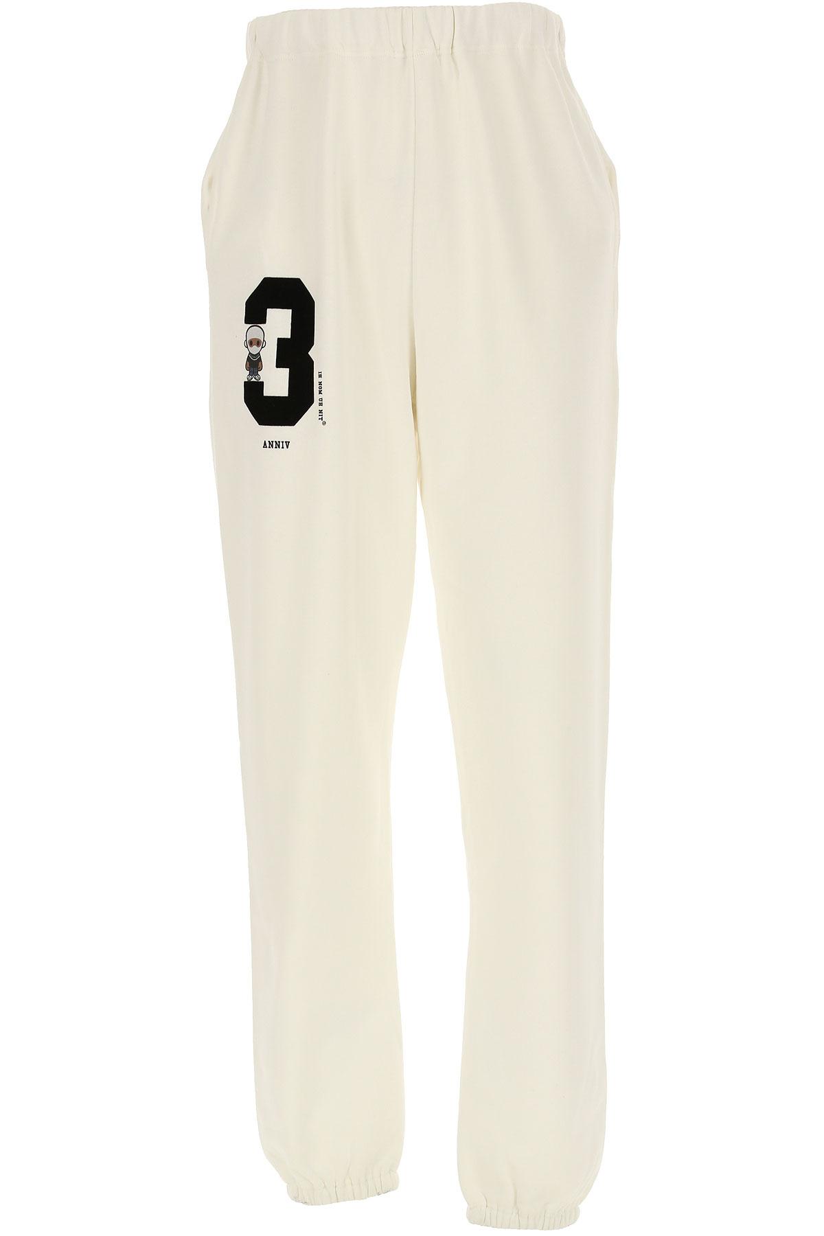 Ih Nom Uh Nit Sweatpants On Sale, White, Cotton, 2019, L (EU 50) M (EU 48)