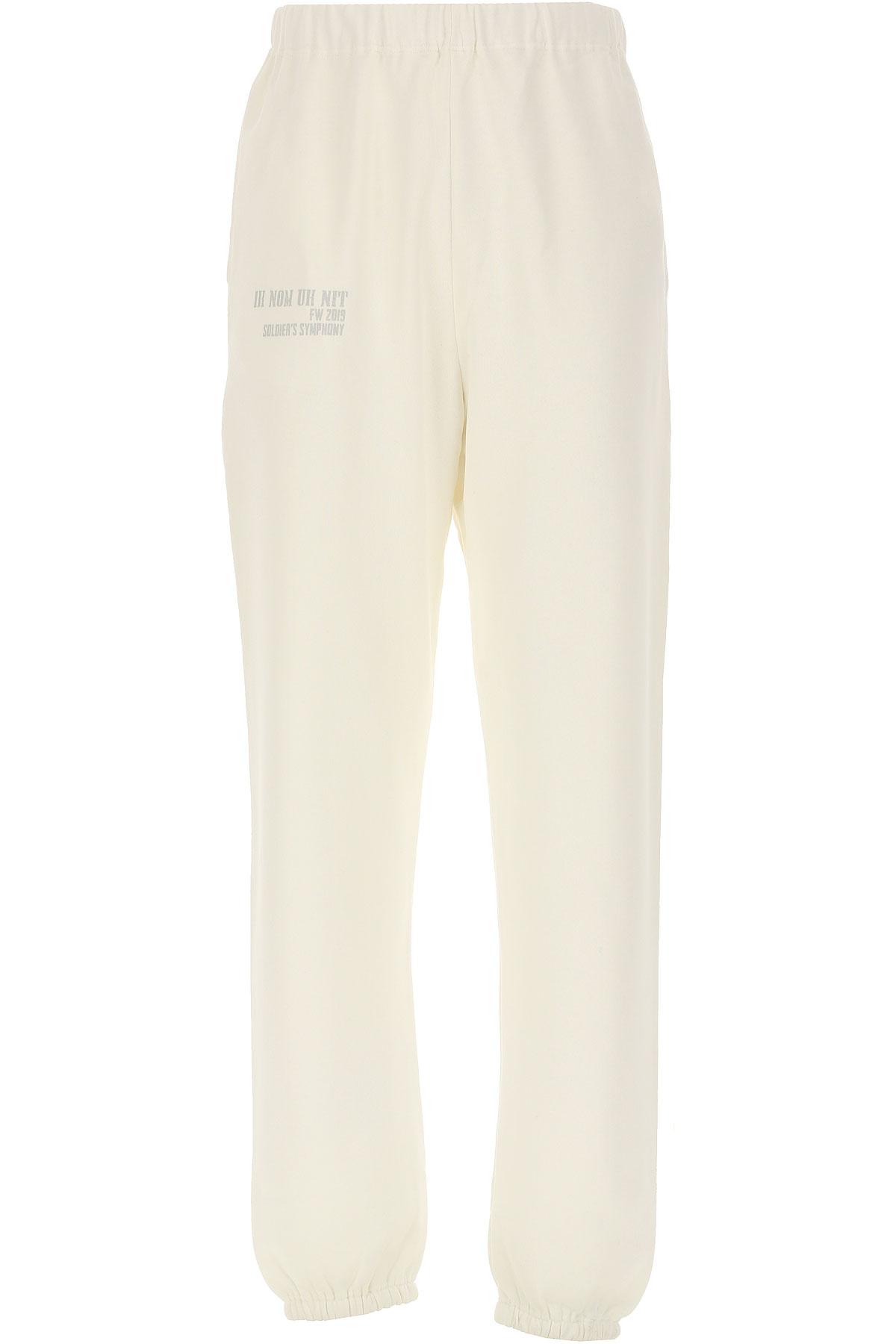 Ih Nom Uh Nit Sweatpants On Sale, White, Cotton, 2019, L (EU 50) XS M (EU 48) S (EU 46)