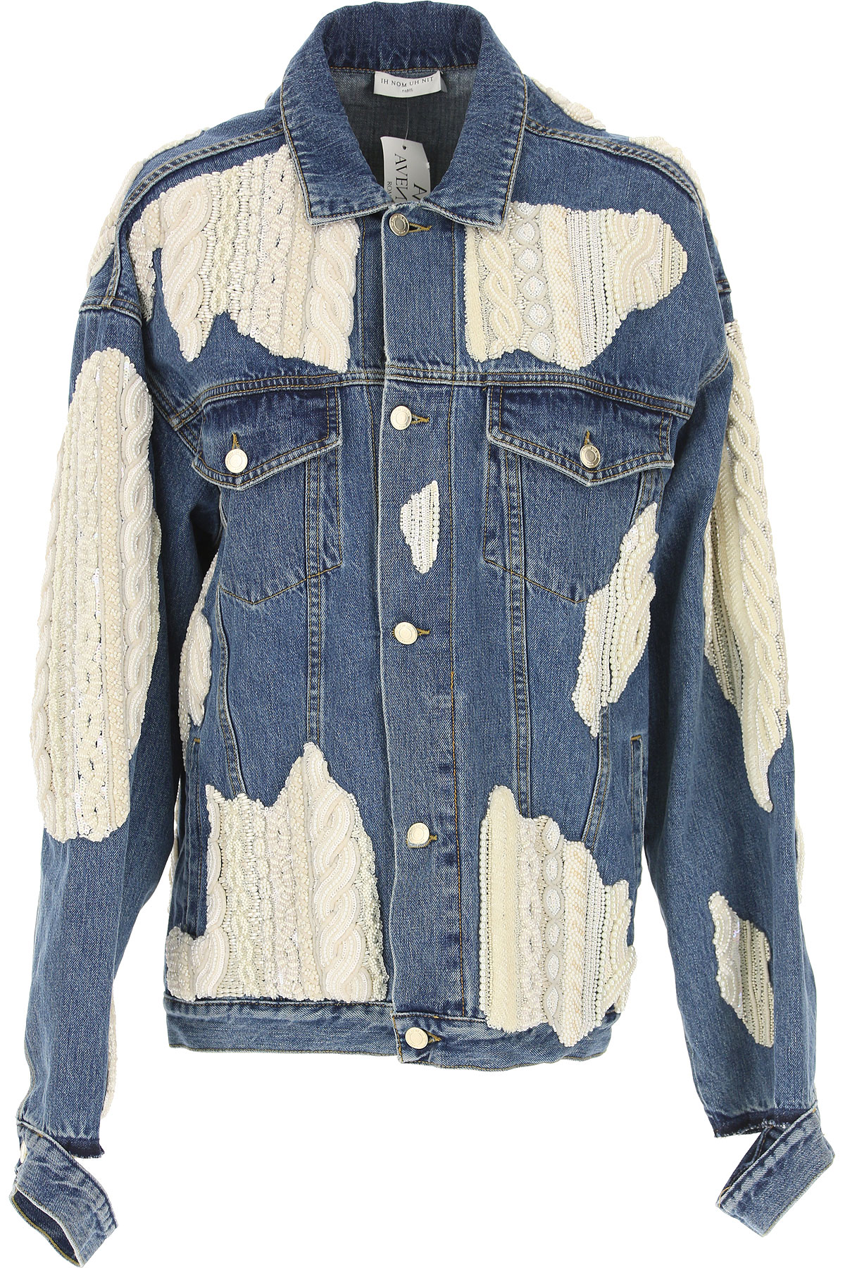 Image of Ih Nom Uh Nit Womens Clothing, Denim Blue, Cotton, 2017, 4 8