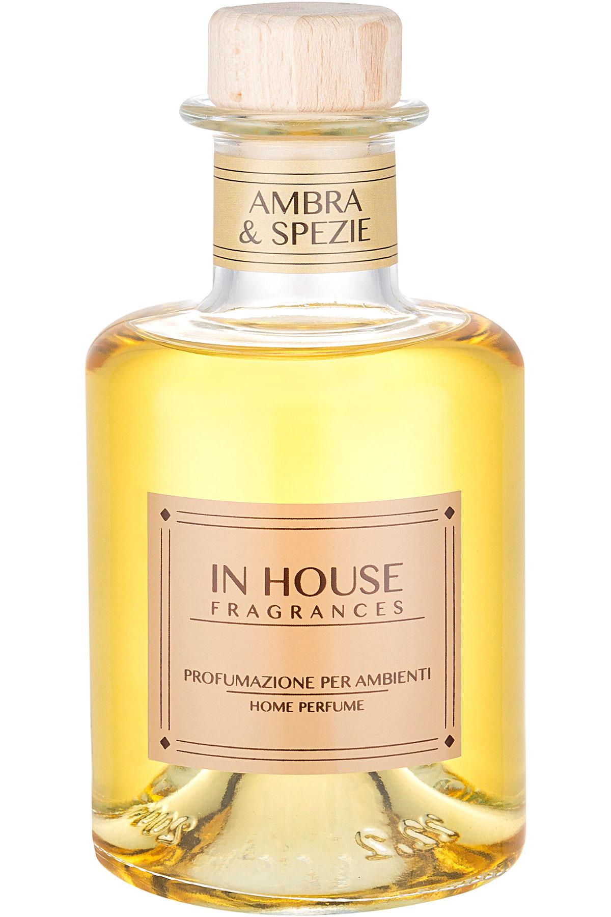 In House Fragrances Home Scents for Men, Arancio & Cannella - Home Diffuser - 200 Ml, 2019, 200 ml