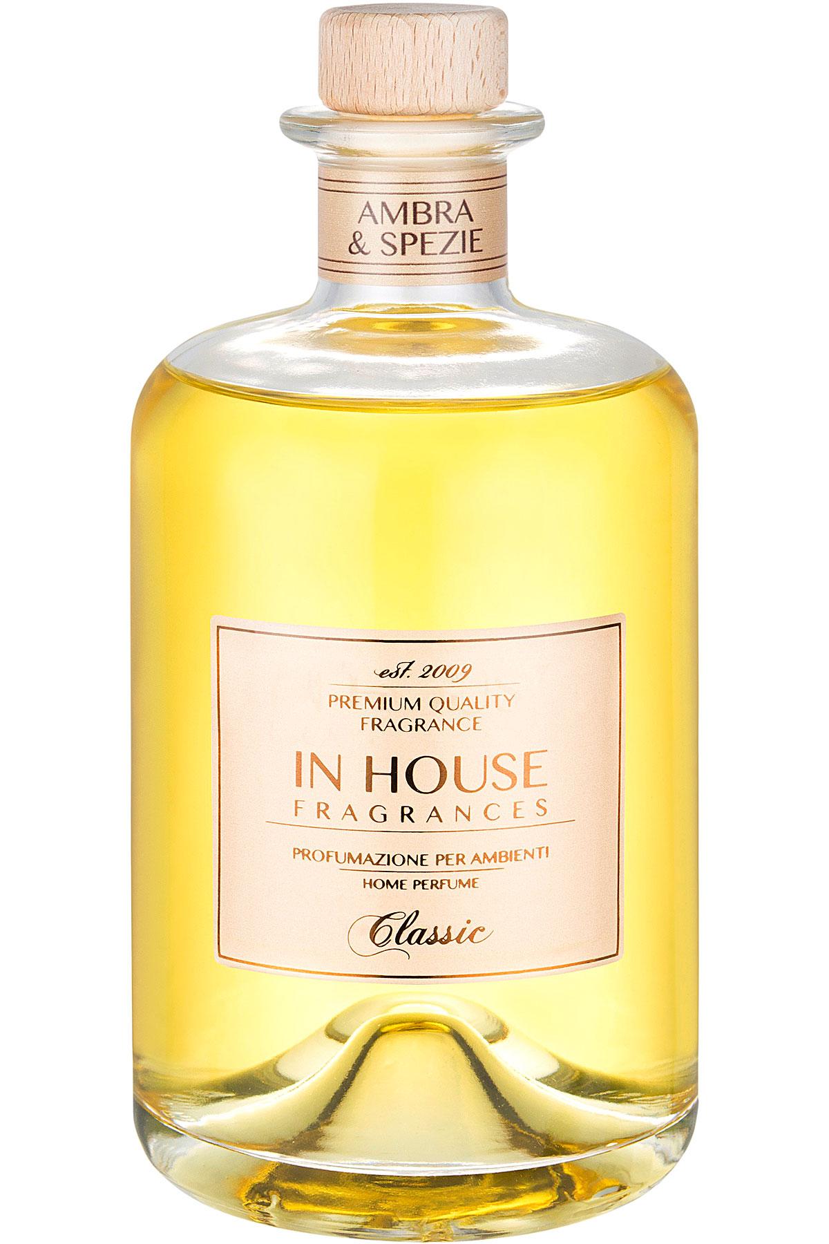 In House Fragrances Home Scents for Men, Arancio & Cannella - Home Diffuser - 500 Ml, 2019, 500 ml