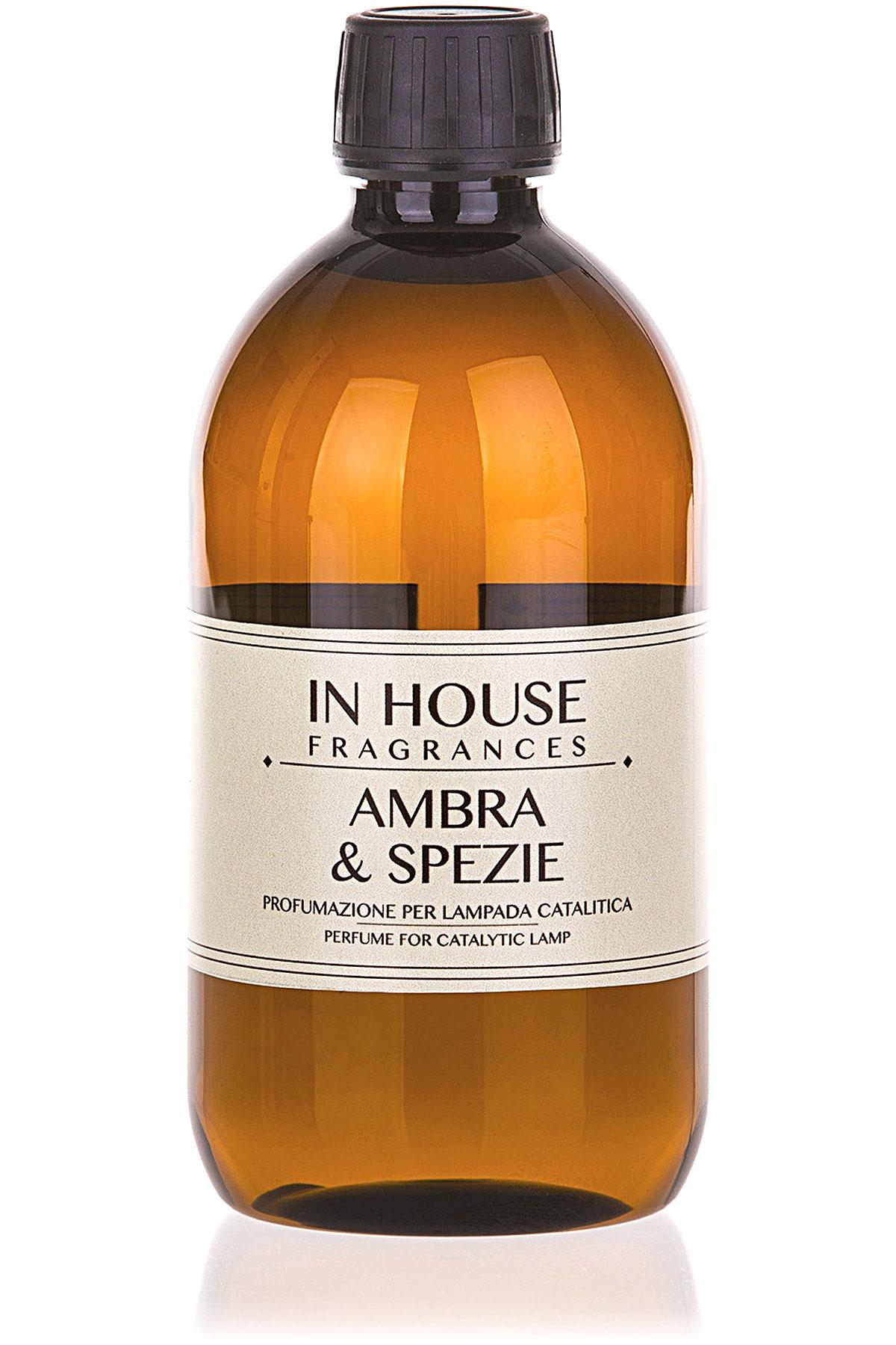 In House Fragrances Home Scents for Men, Arancio & Cannella - Catalyst Perfume Lamp Refill - 500 Ml, 2019, 500 ml