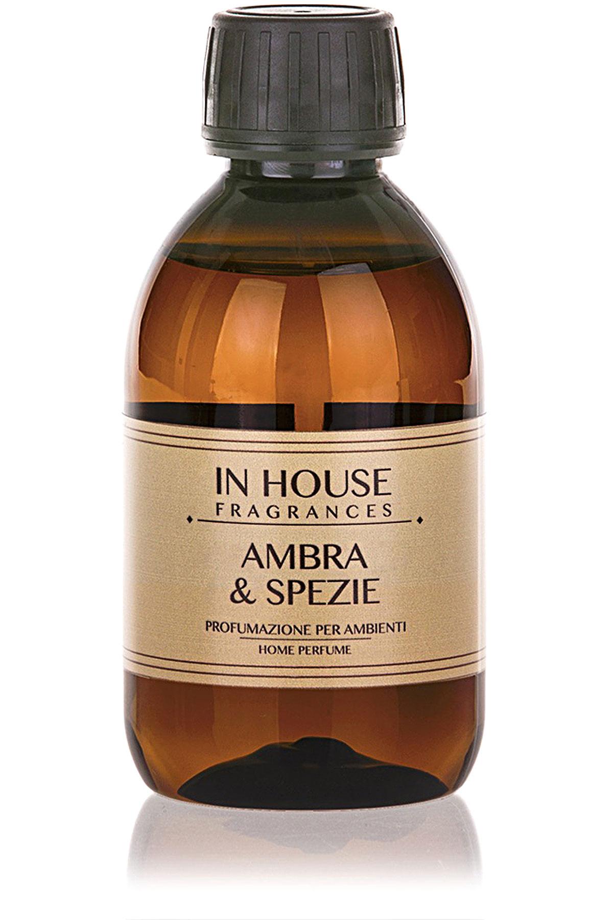 In House Fragrances Home Scents for Men, Arancio & Cannella - Refill - 200 Ml, 2019, 200 ml