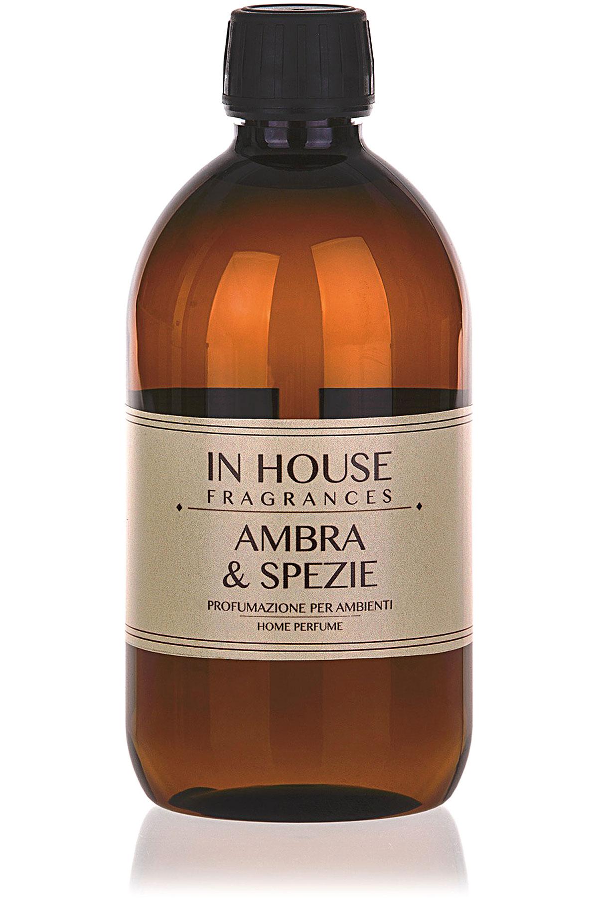 In House Fragrances Home Scents for Men, Arancio & Cannella - Refill - 500 Ml, 2019, 500 ml