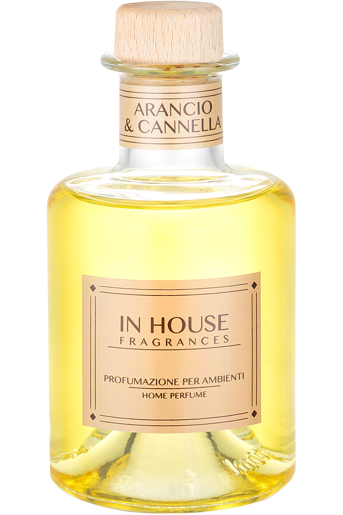 In House Fragrances Home Scents for Men, Ambra & Spezie - Home Diffuser - 200 Ml, 2019, 200 ml