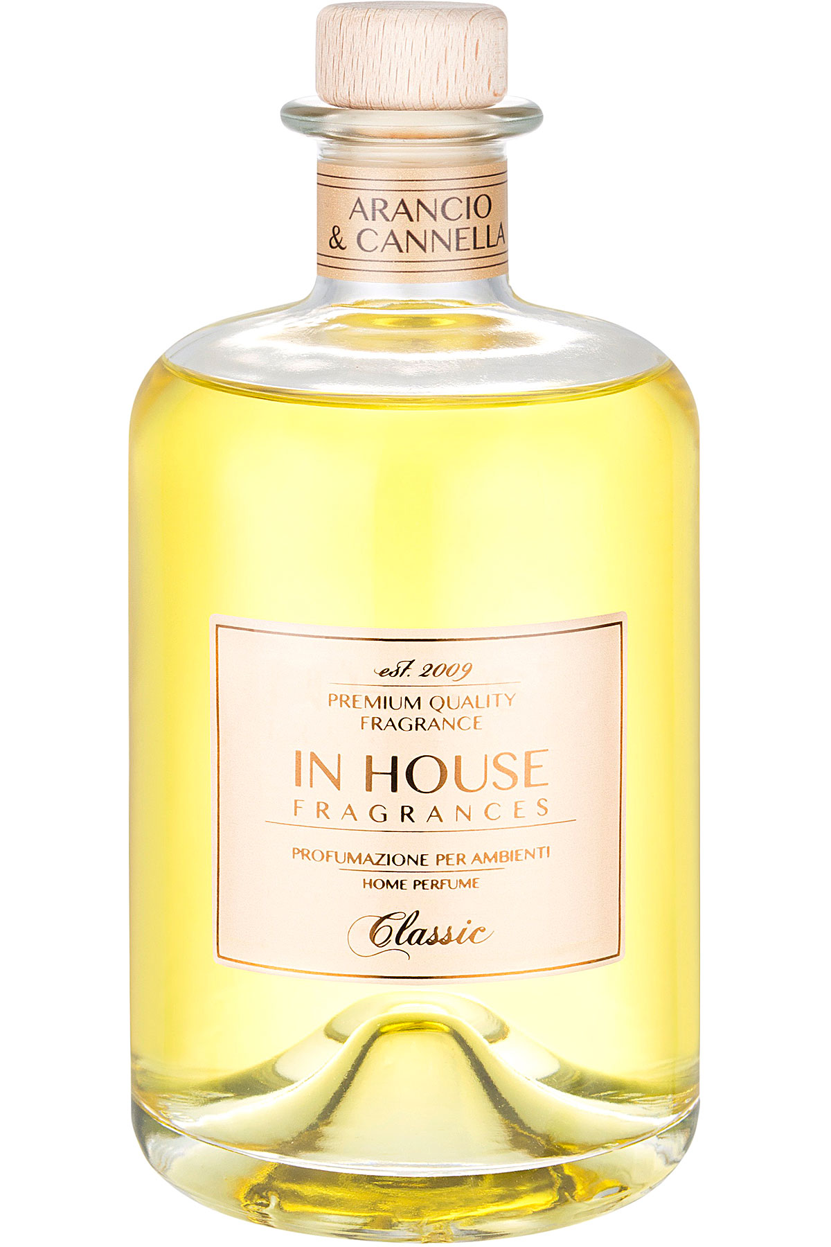 In House Fragrances Home Scents for Men, Ambra & Spezie - Home Diffuser - 500 Ml, 2019, 500 ml
