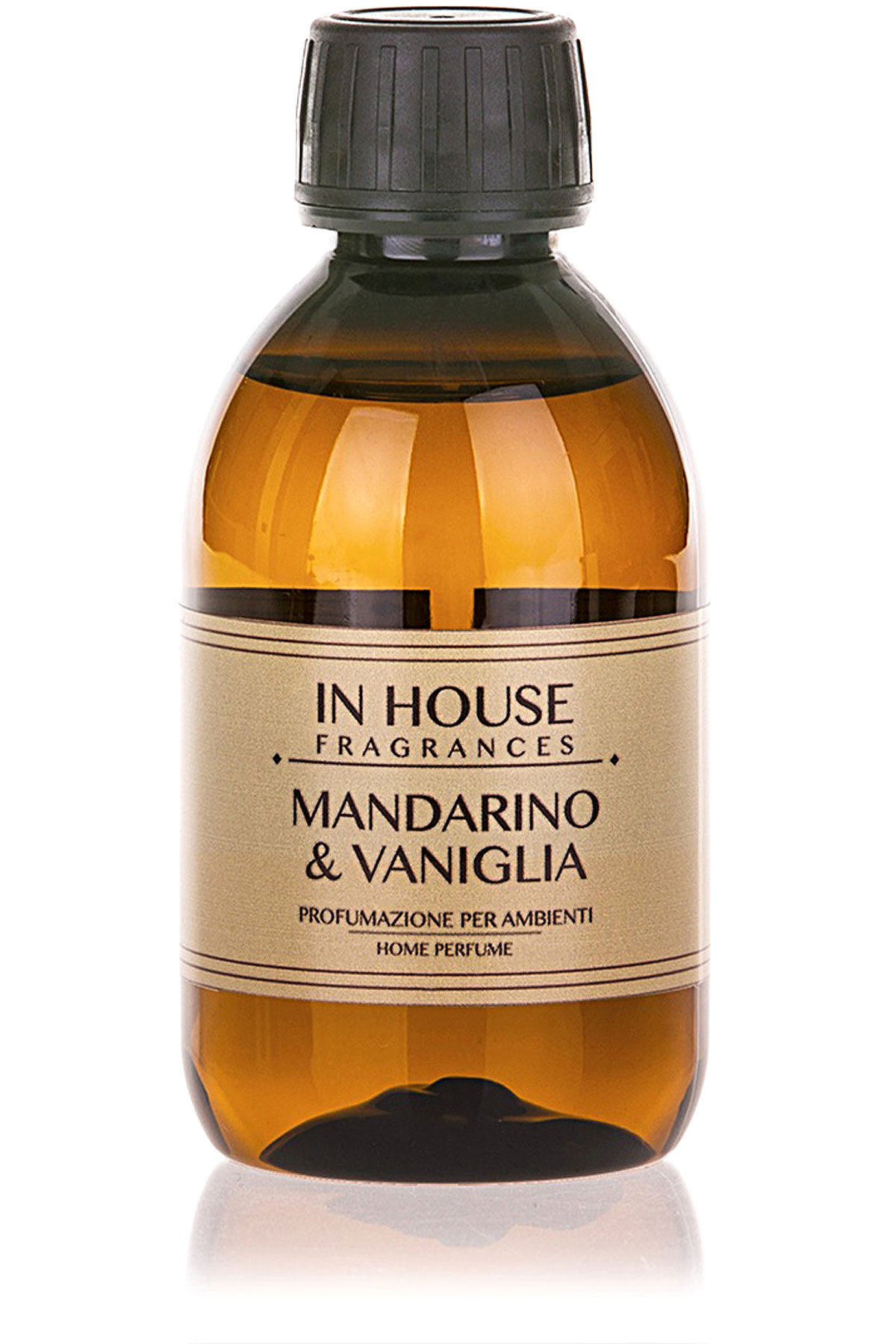 In House Fragrances Home Scents for Men, Mandarino & Vaniglia - Refill - 200 Ml, 2019, 200 ml