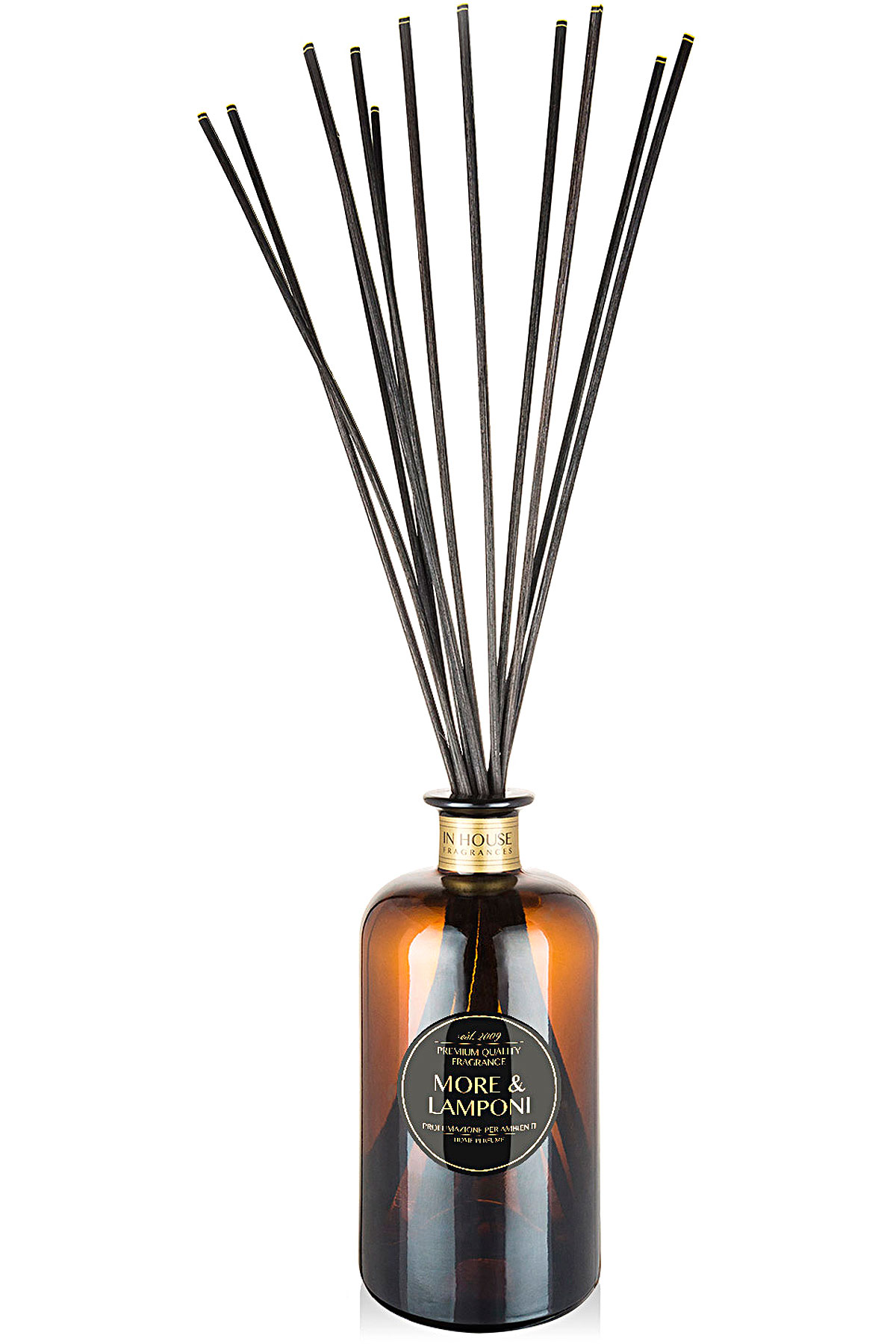 In House Fragrances Home Scents for Men, More & Lamponi - Home Diffuser - 500 Ml, 2019, 500 ml