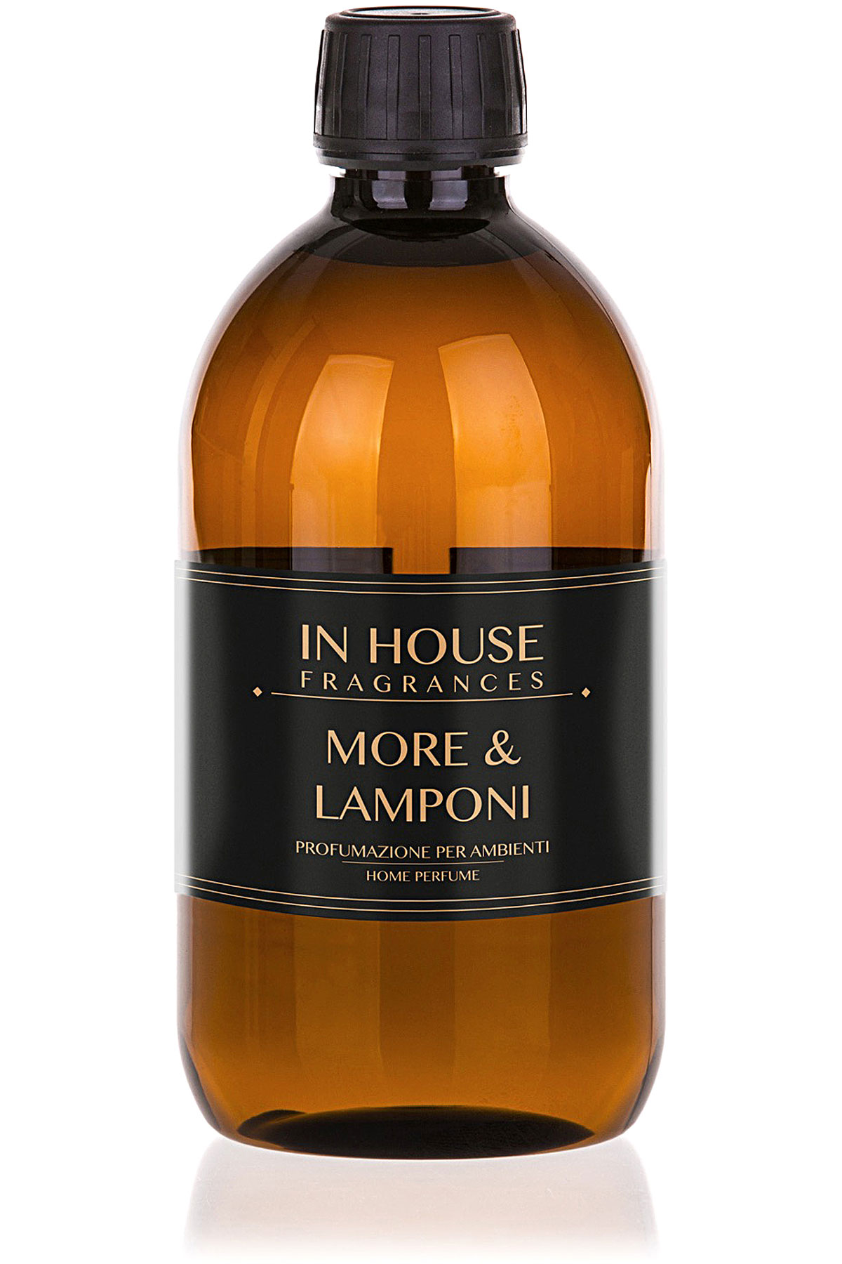 In House Fragrances Home Scents for Men, More & Lamponi - Refill - 500 Ml, 2019, 500 ml