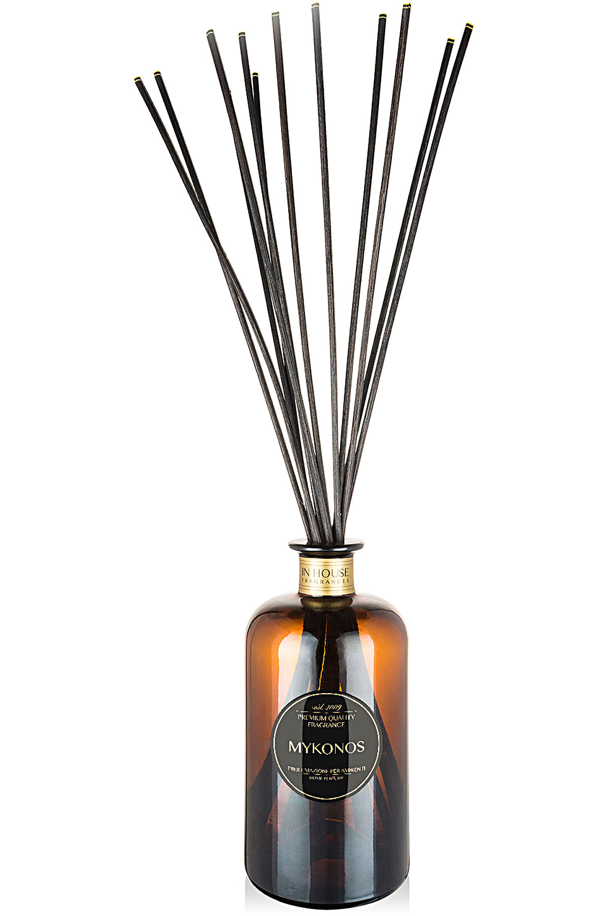 In House Fragrances Home Scents for Men, Mykonos - Home Diffuser - 500 Ml, 2019, 500 ml