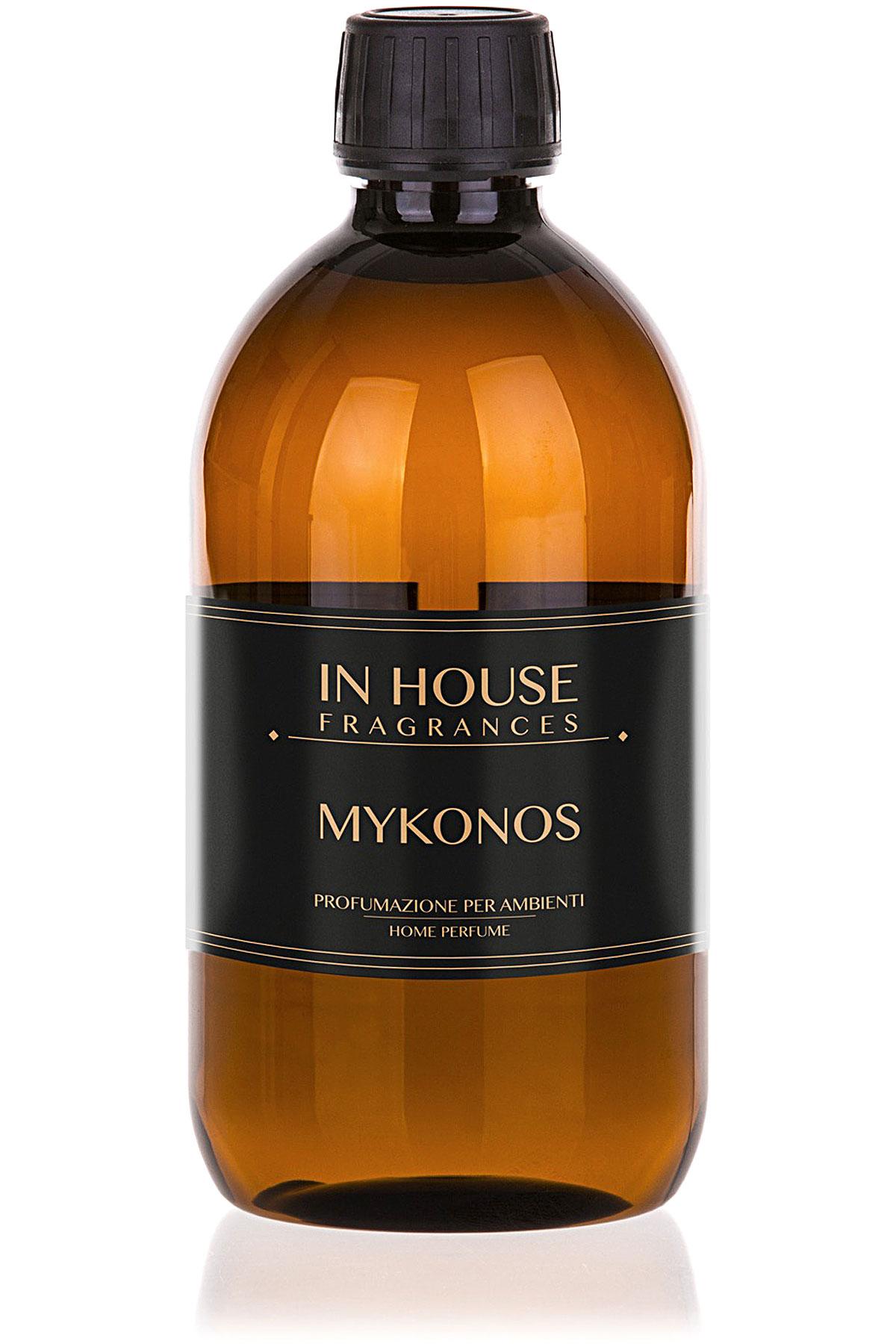 In House Fragrances Home Scents for Men, Mykonos - Refill - 500 Ml, 2019, 500 ml