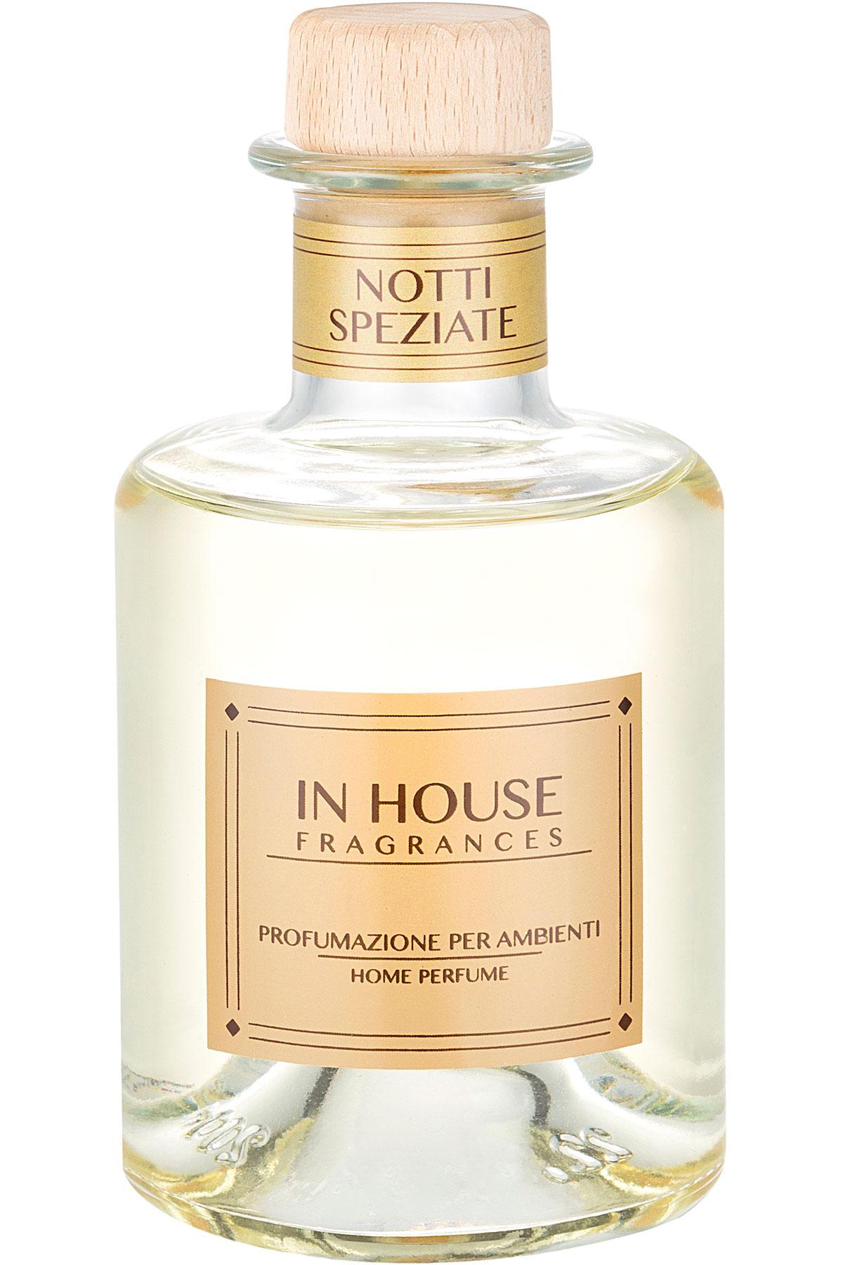 In House Fragrances Home Scents for Men, Notti Speziate - Home Diffuser - 200 Ml, 2019, 200 ml
