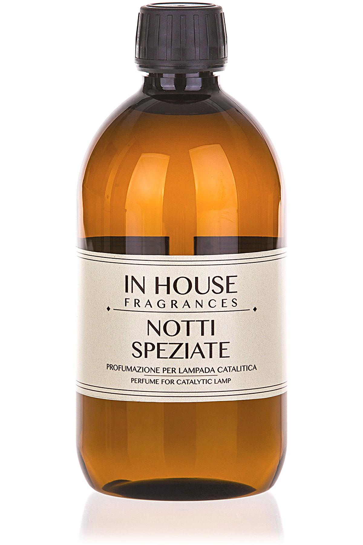 In House Fragrances Home Scents for Men, Notti Speziate - Catalyst Perfume Lamp Refill - 500 Ml, 2019, 500 ml