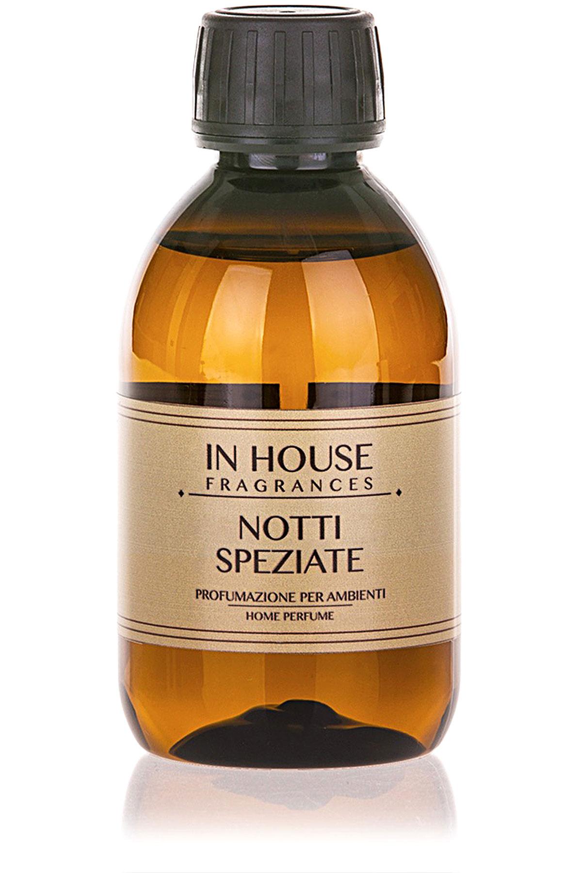 In House Fragrances Home Scents for Men, Notti Speziate - Refill - 200 Ml, 2019, 200 ml