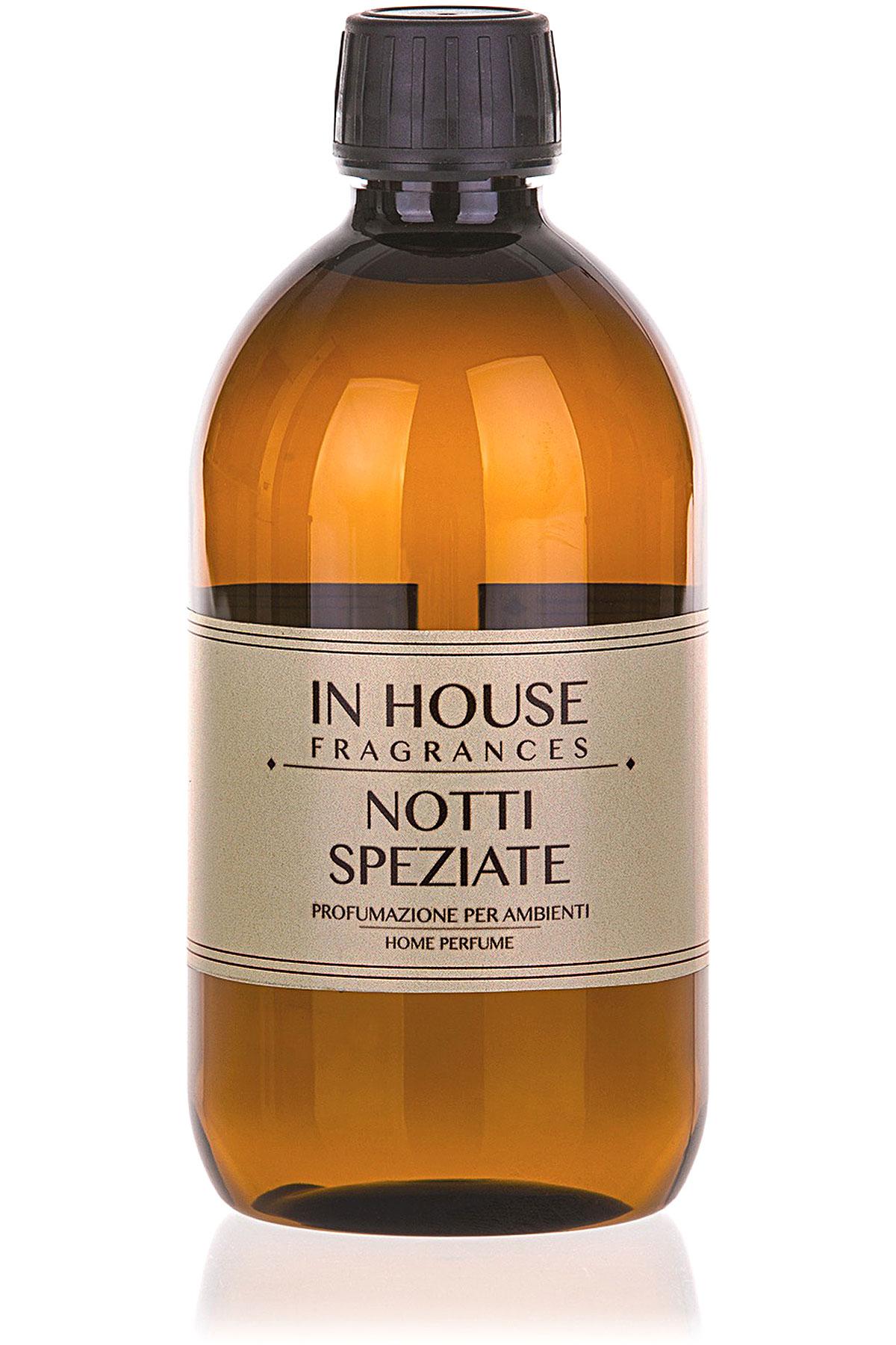 In House Fragrances Home Scents for Men, Notti Speziate - Refill - 500 Ml, 2019, 500 ml