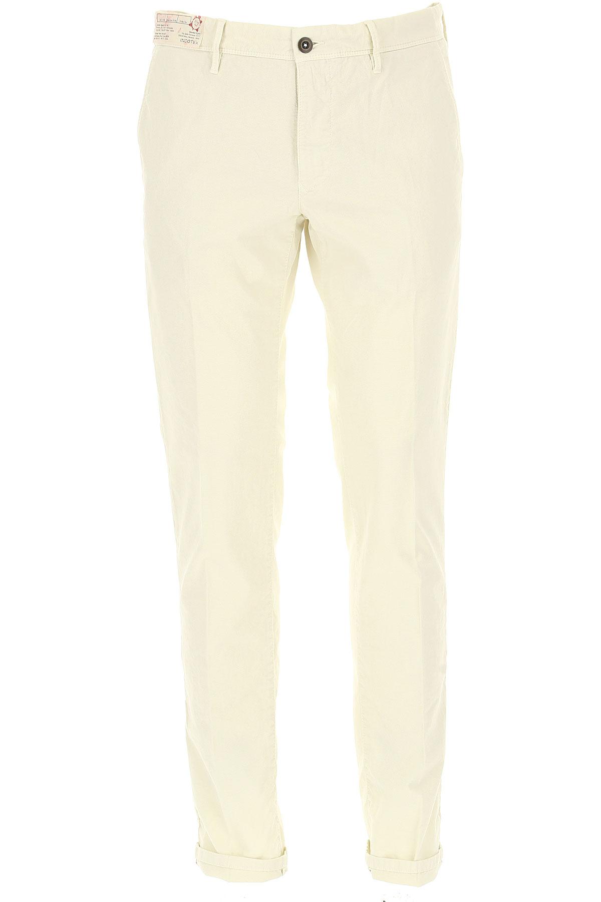 Incotex Pants for Men On Sale, White, Cotton, 2019, 31 32 34 36