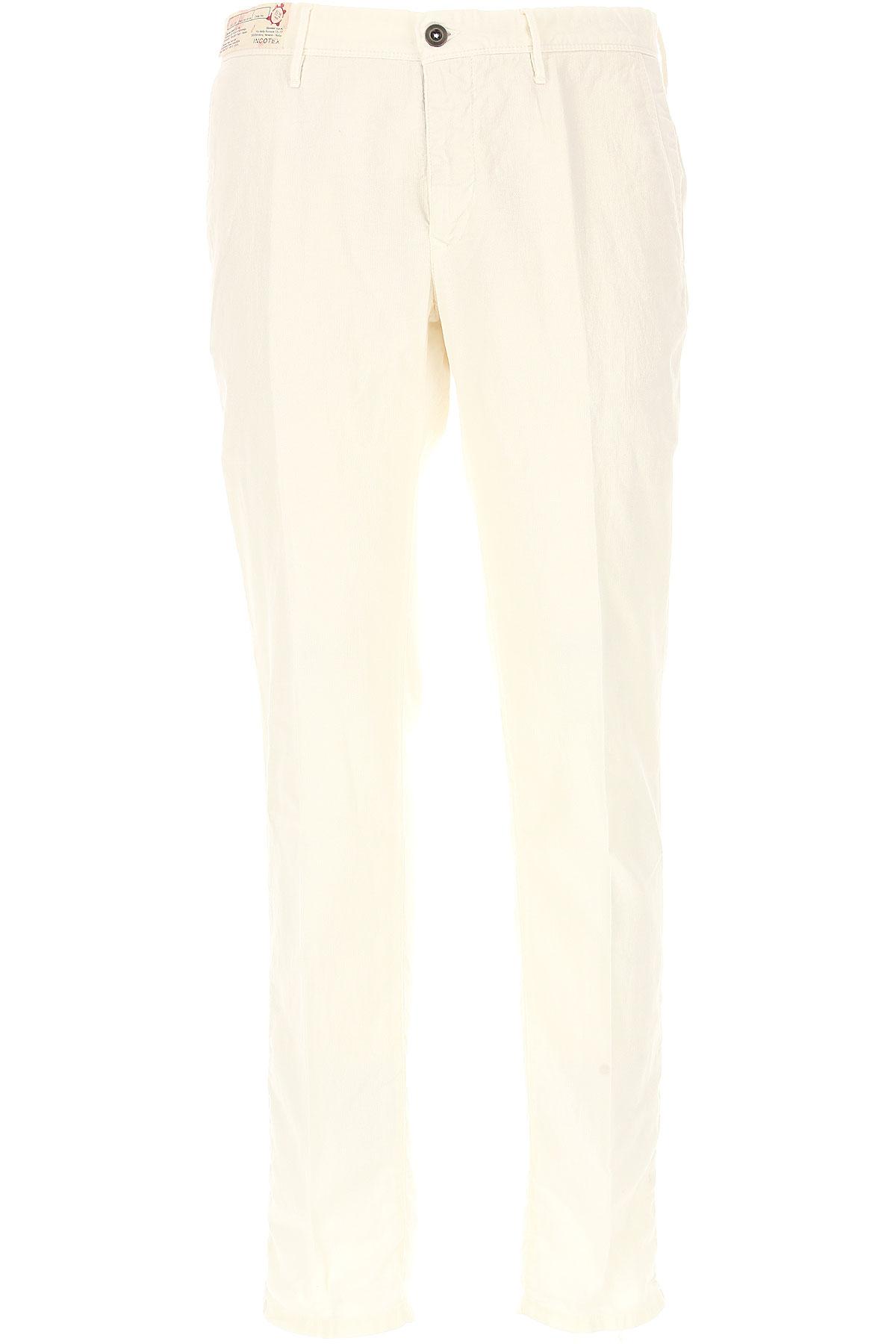 Incotex Pants for Men On Sale, White, Cotton, 2019, 32 33 36