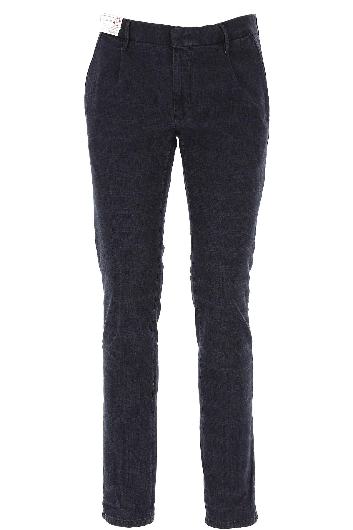 Incotex Pants for Men On Sale, Navy Blue, Cotton, 2019, 32 33 34 35 36