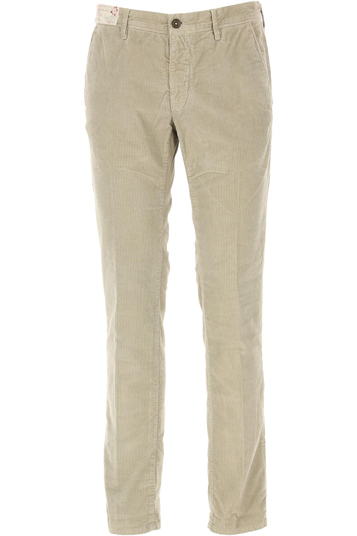Incotex Pants for Men On Sale, Beige, Cotton, 2019, 33 36