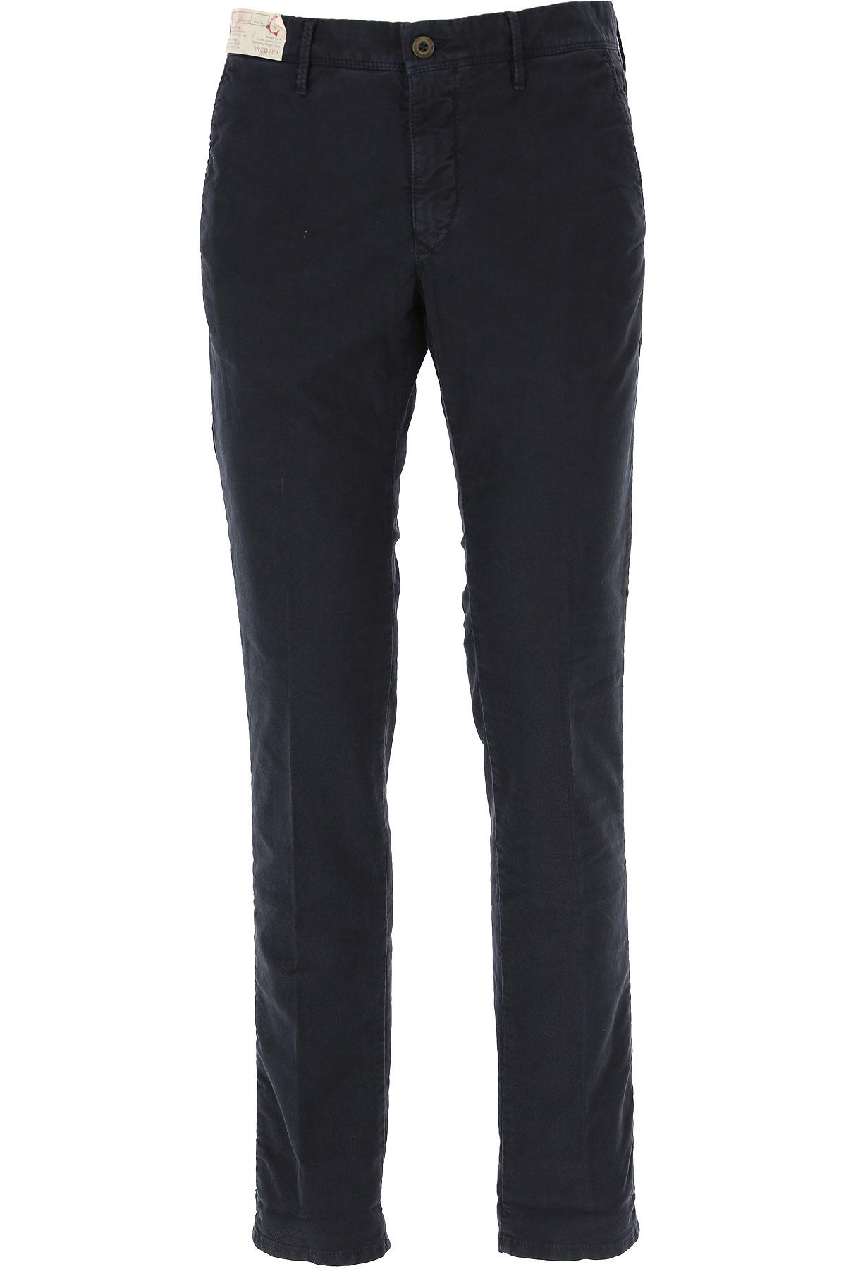 Incotex Pants for Men On Sale, Dark Blue, Cotton, 2019, 32 33 35 36
