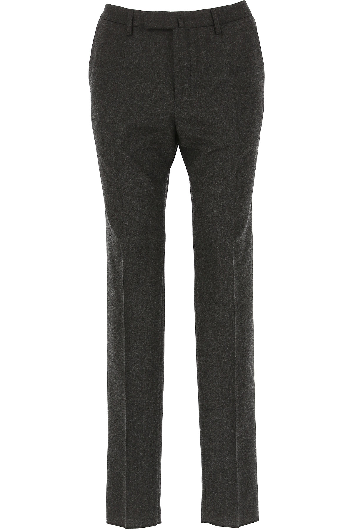 Image of Incotex Pants for Men, Anthracite Grey, Wool, 2017, 34 36