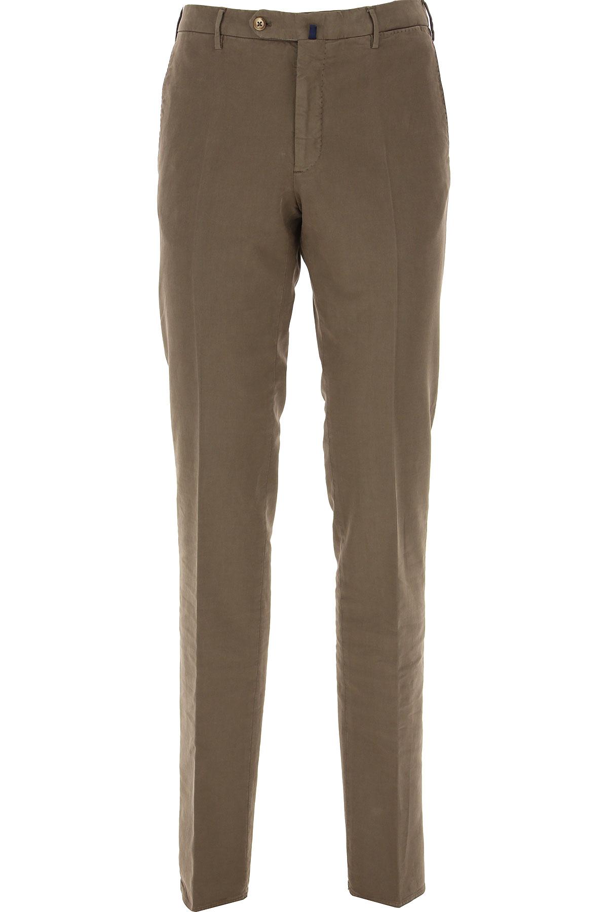 Incotex Pants for Men On Sale, Mud, Cotton, 2019, 32 34 36 38 40