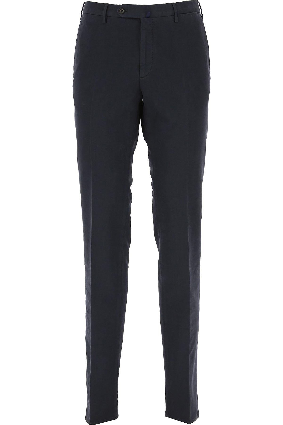 Incotex Pants for Men On Sale, Dark Midnight Blue, Cotton, 2019, 36 38 40