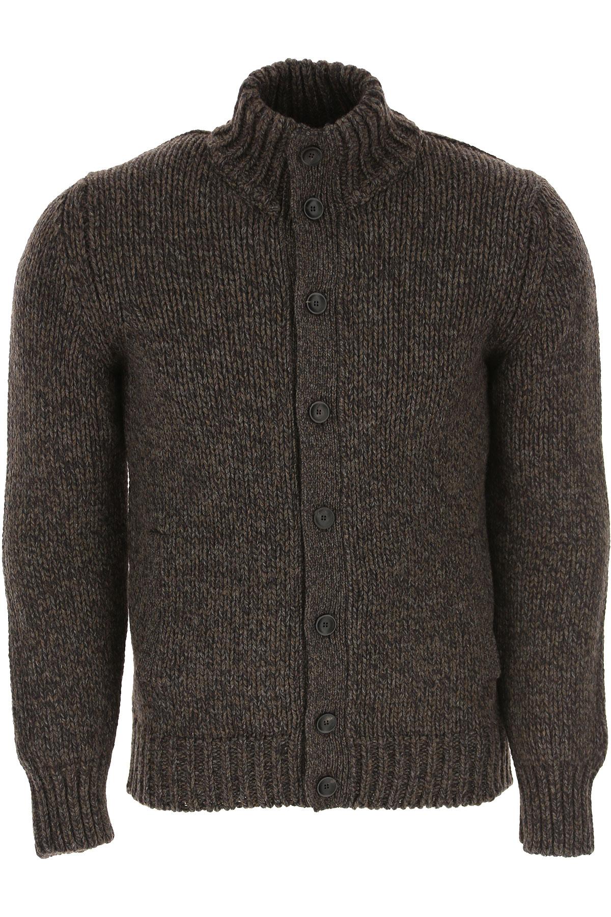Incotex Sweater for Men Jumper On Sale, Brown, Wool, 2019, L M XL