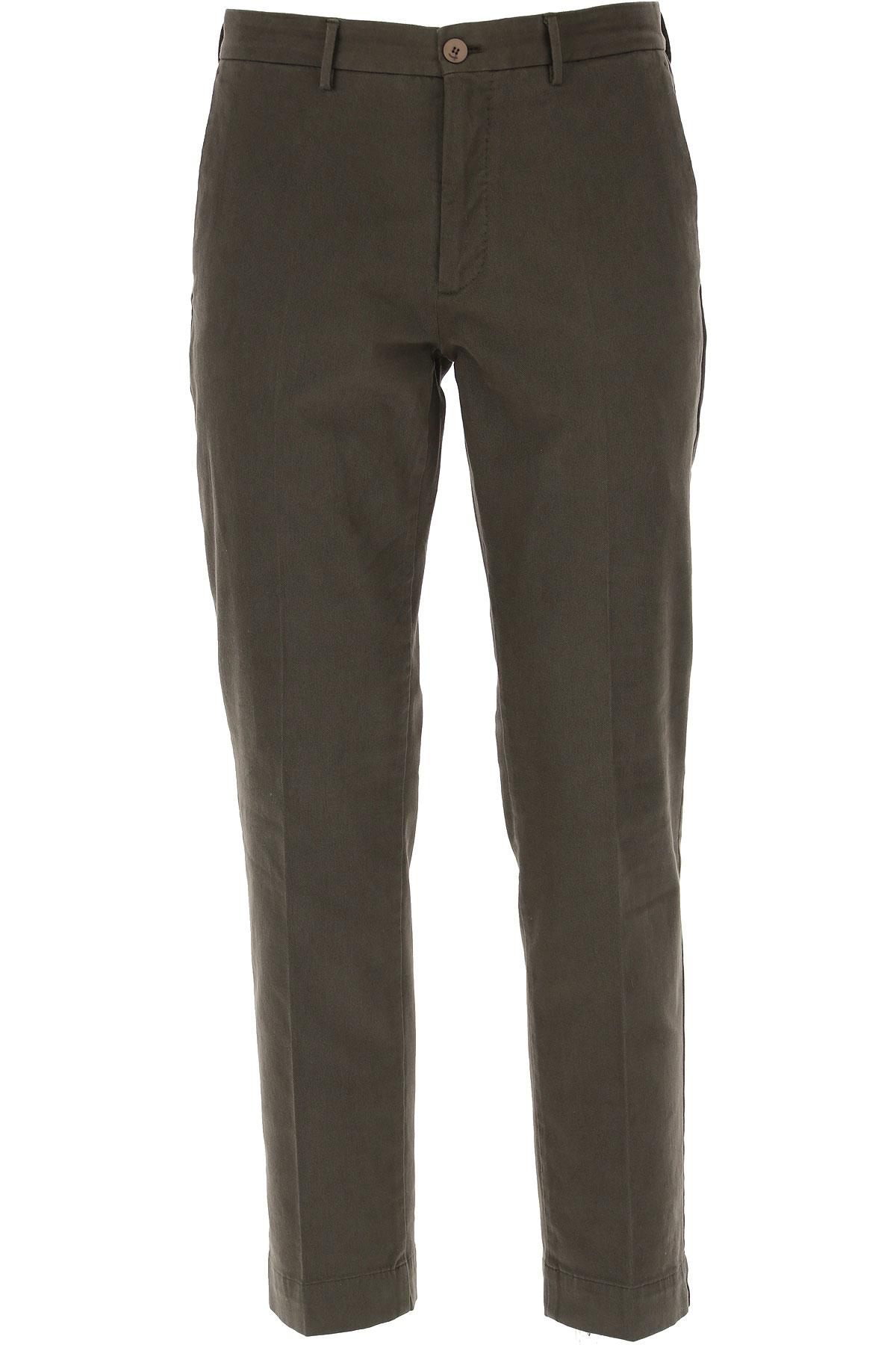 Incotex Pantalon Homme, Gris foncé asphalte, Coton, 2019, 48 50 52 54 56