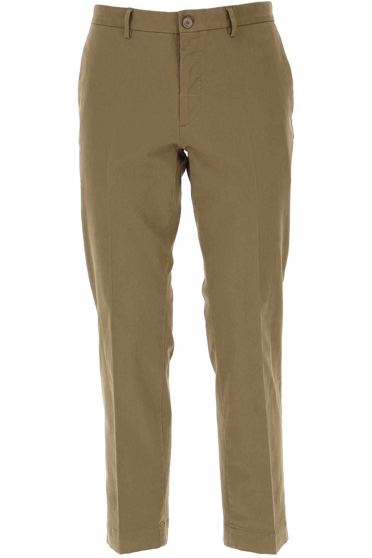Incotex Pants for Men On Sale, Mud, Cotton, 2019, 32 34