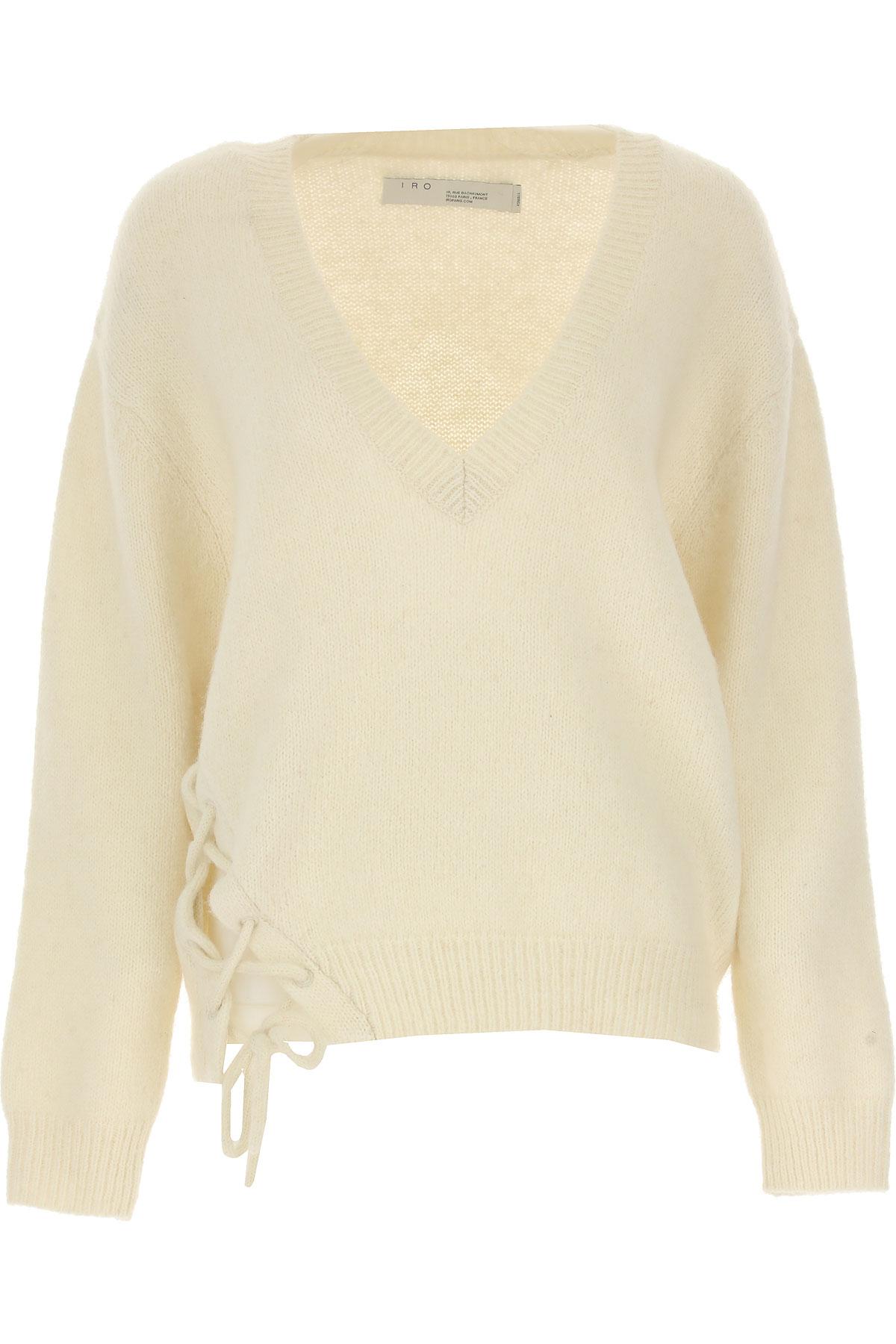 Image of IRO Sweater for Women Jumper, White, alpaca, 2017, 2 4 6