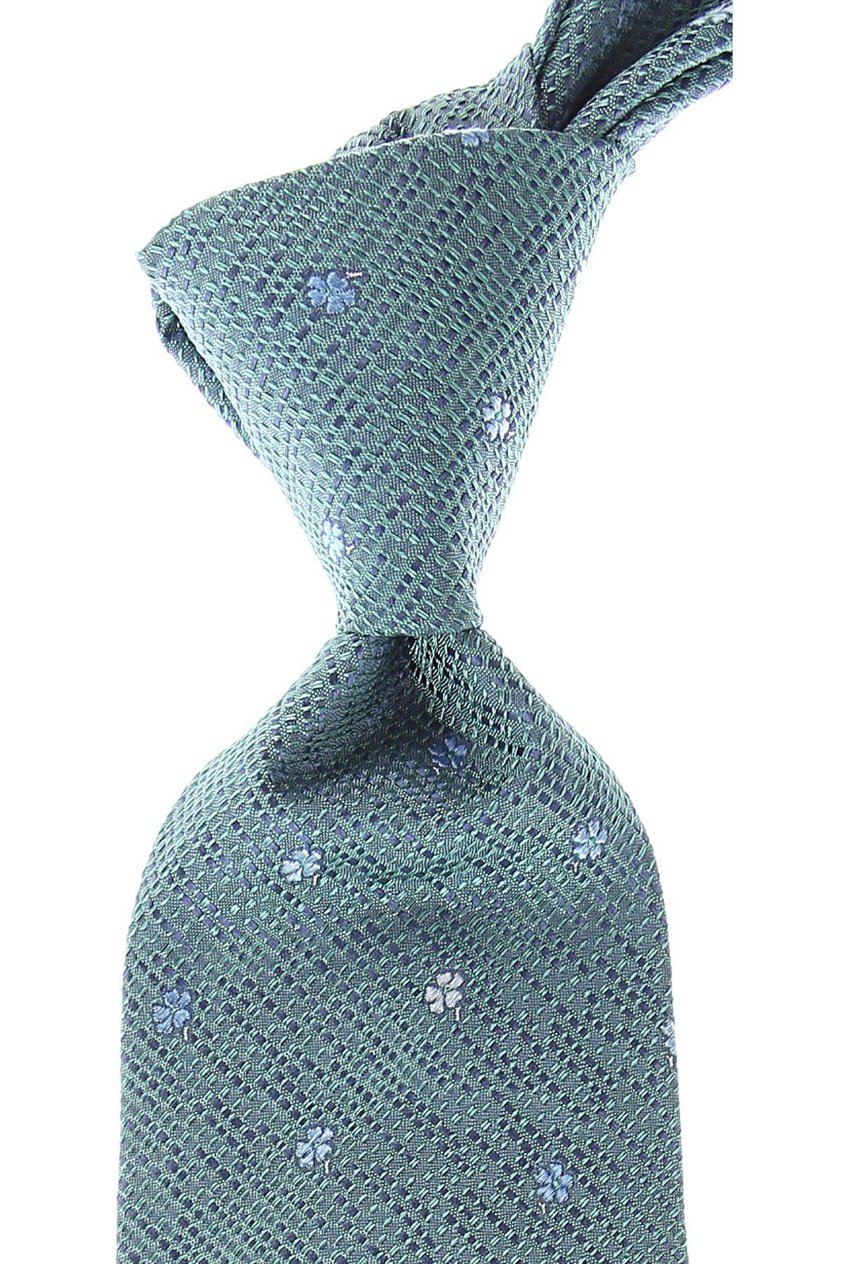 Isaia Ties On Sale, Changing Green, Silk, 2019