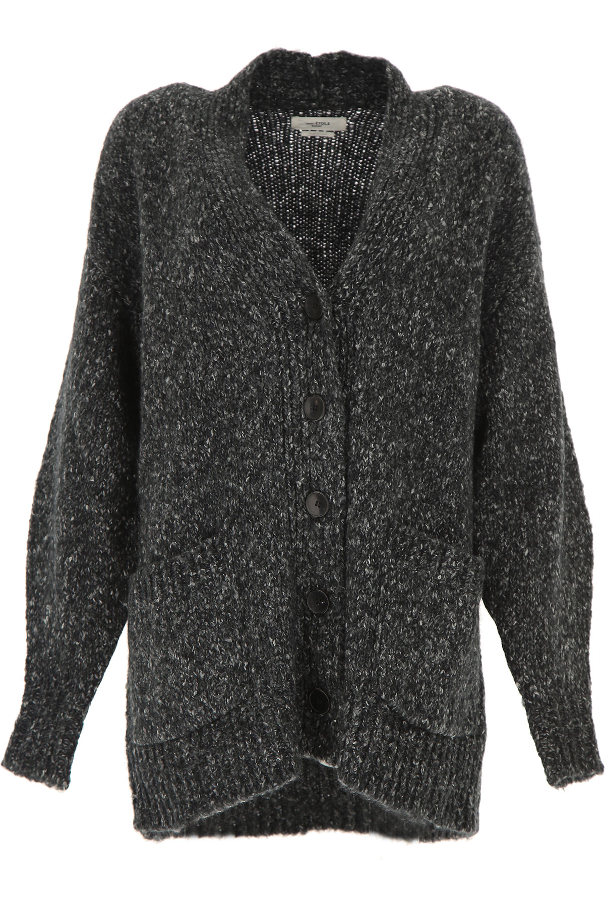 Isabel Marant Sweater for Women Jumper On Sale, Anthracite, alpaca, 2019, 4 6