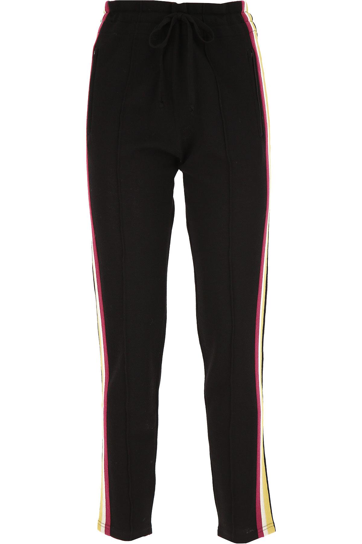 Isabel Marant Pants for Women On Sale, Black, Viscose, 2019, FR 36 • IT 40 FR 38 • IT 42 FR 40 • IT 44