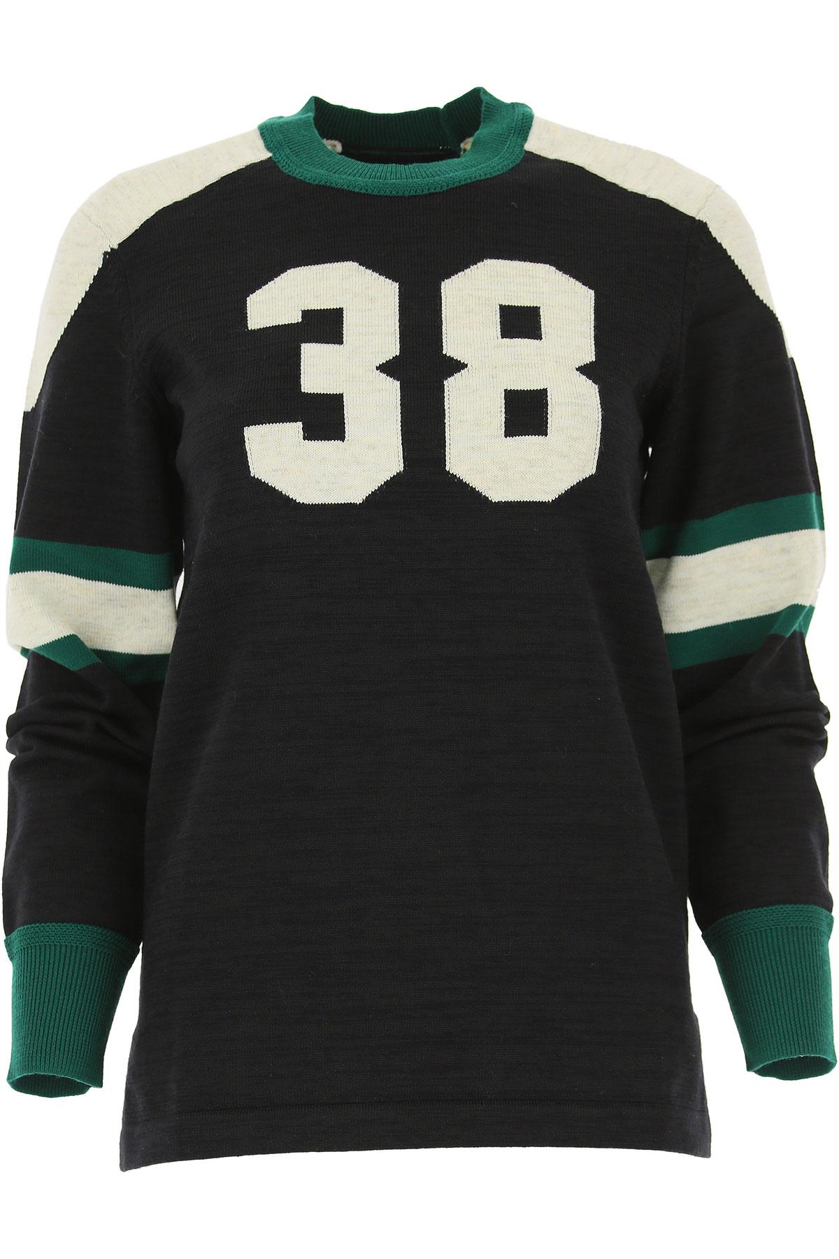 Isabel Marant Sweater for Women Jumper, Black, Cotton, 2017, FR 34 • IT 38 FR 34 • IT 38 FR 36 • IT 40 FR 38 • IT 42 USA-478221