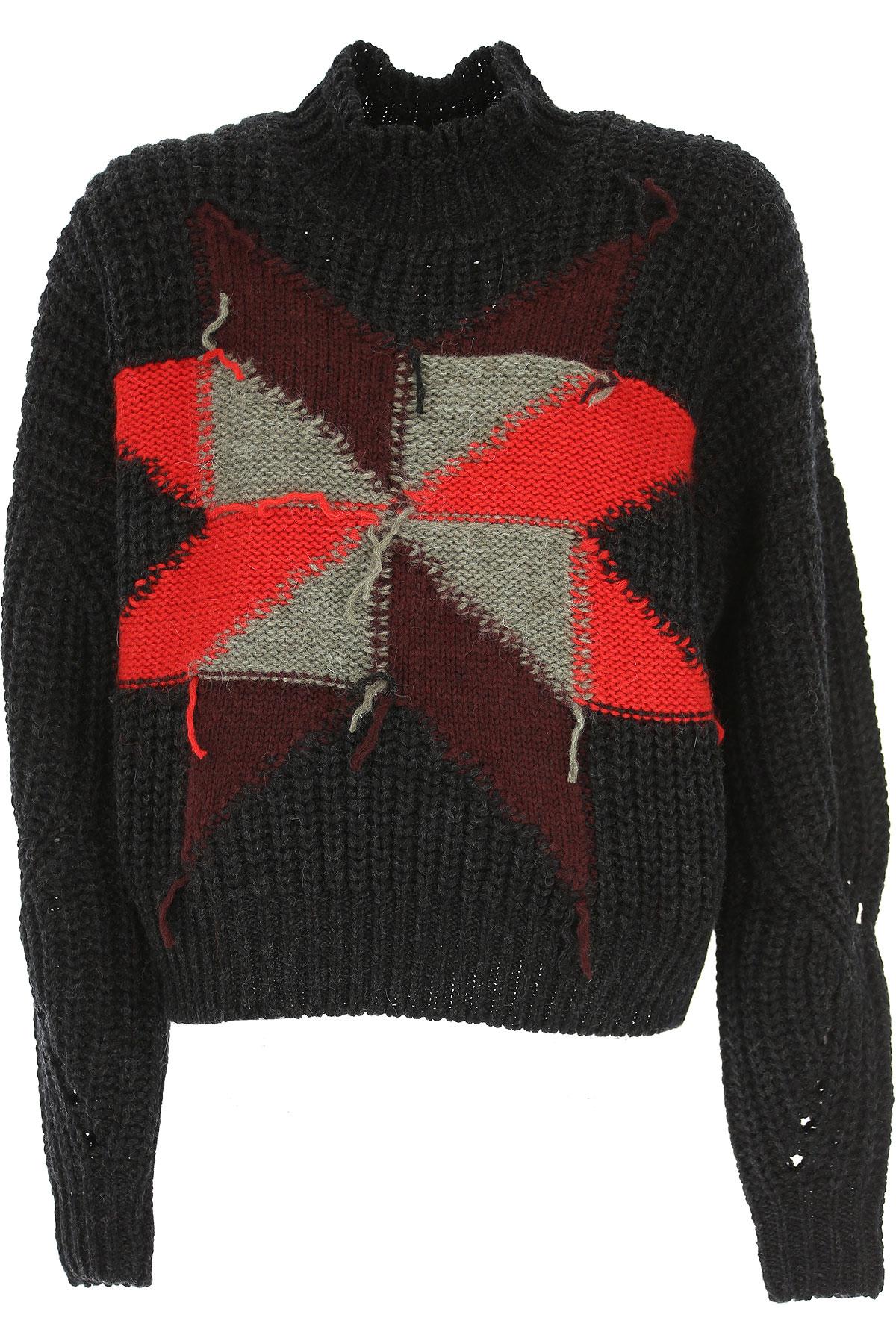 Isabel Marant Sweater for Women Jumper, Black, Wool, 2017, FR 34 • IT 38 FR 36 • IT 40 FR 38 • IT 42 USA-478762