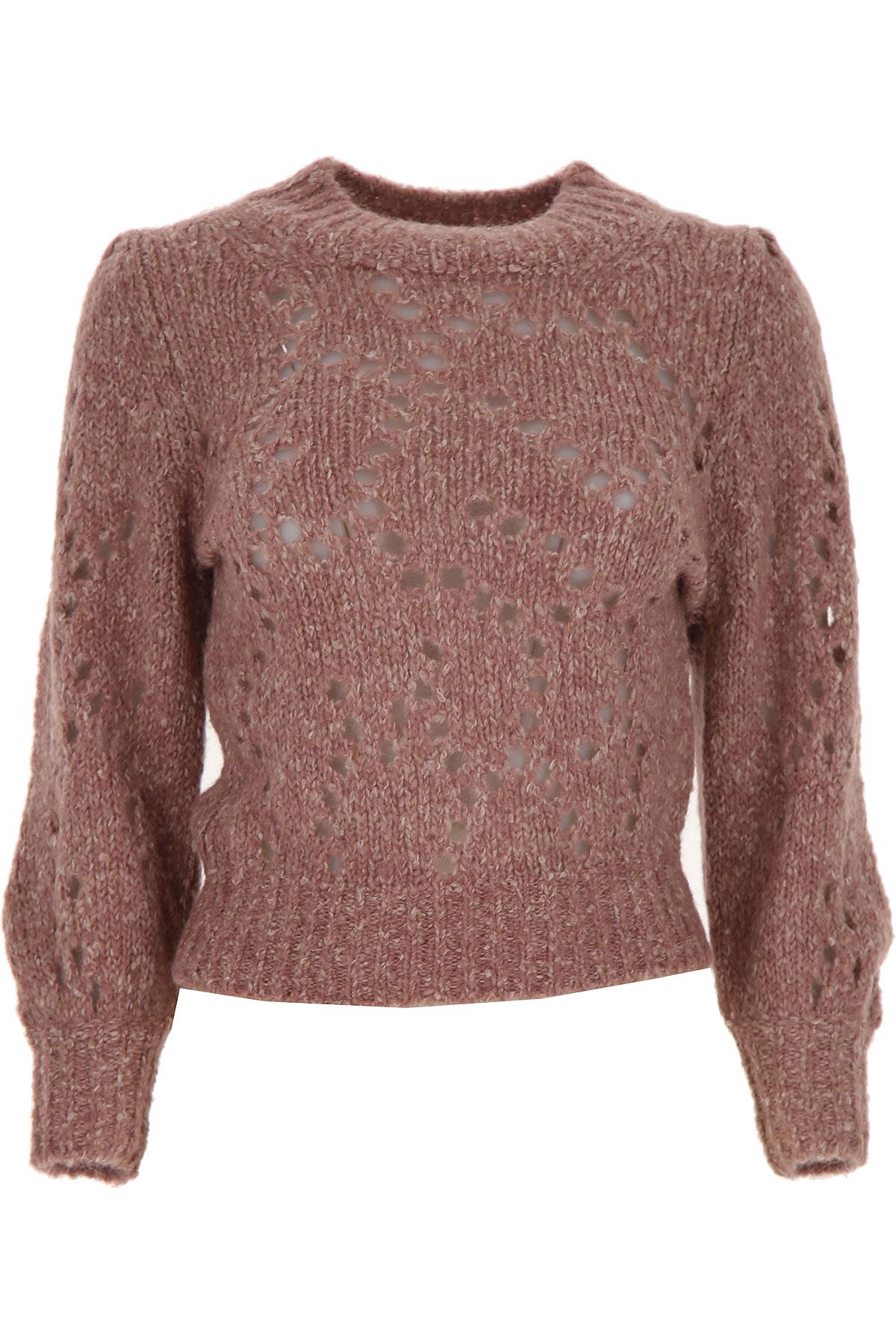 Isabel Marant Sweater for Women Jumper On Sale, Rosewood, alpaca, 2019, 6 8