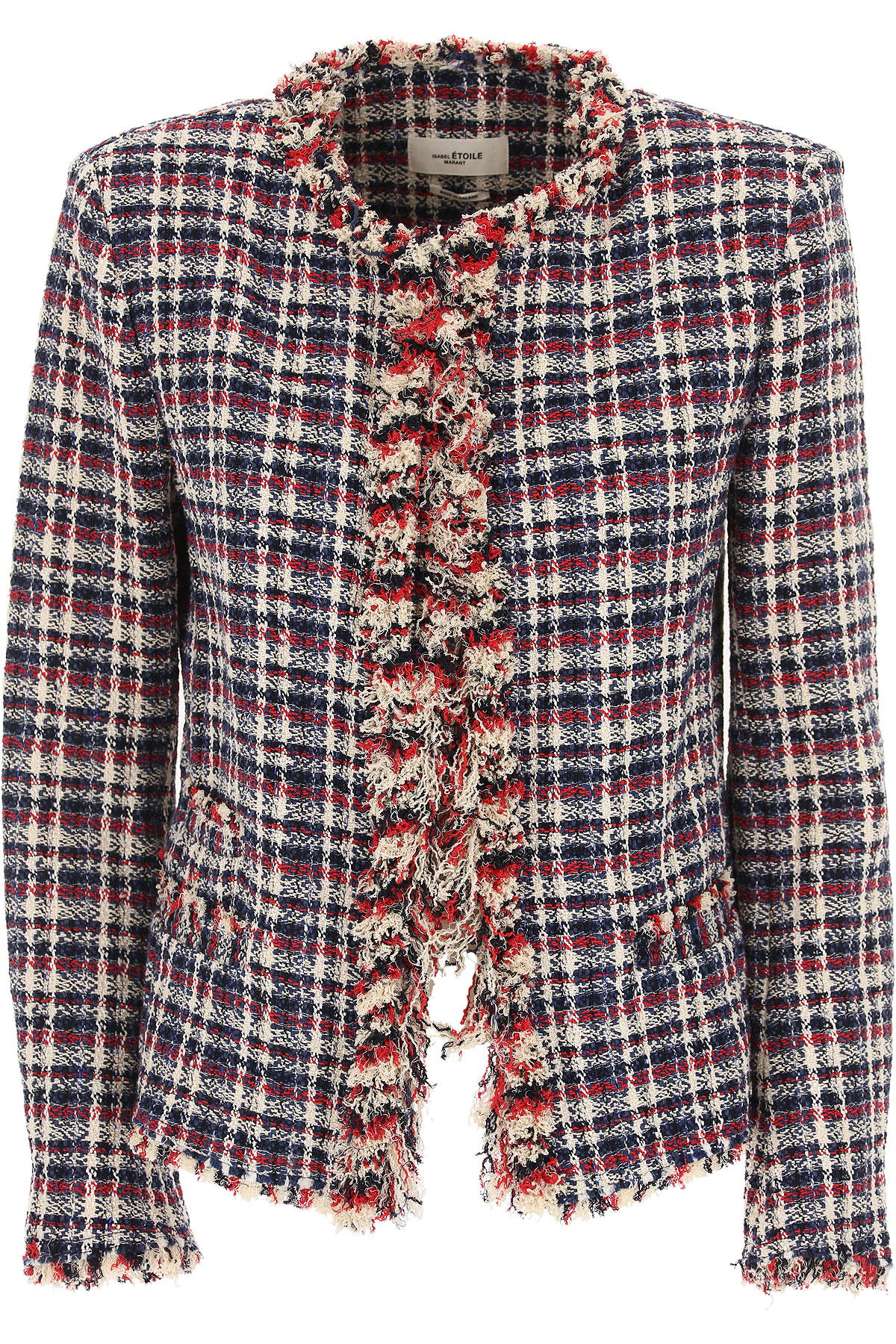 Image of Isabel Marant Blazer for Women, Red, Cotton, 2017, 2