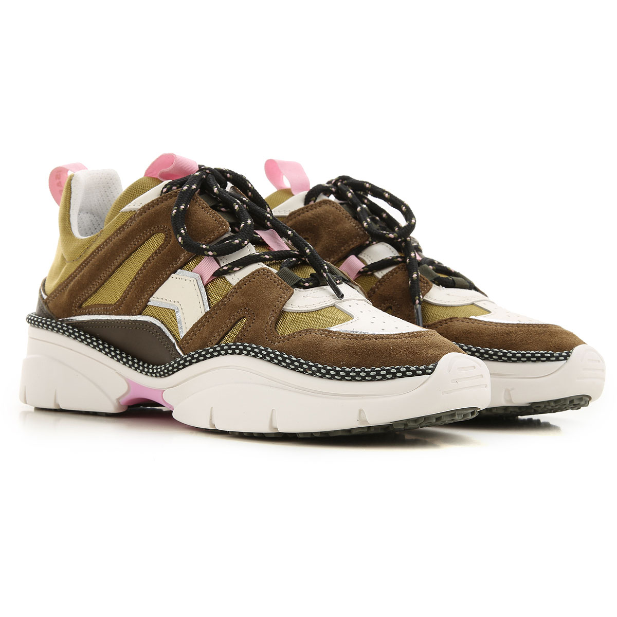 Isabel Marant Sneakers for Women On Sale, Bronze, Suede leather, 2019, 10 6 7 9
