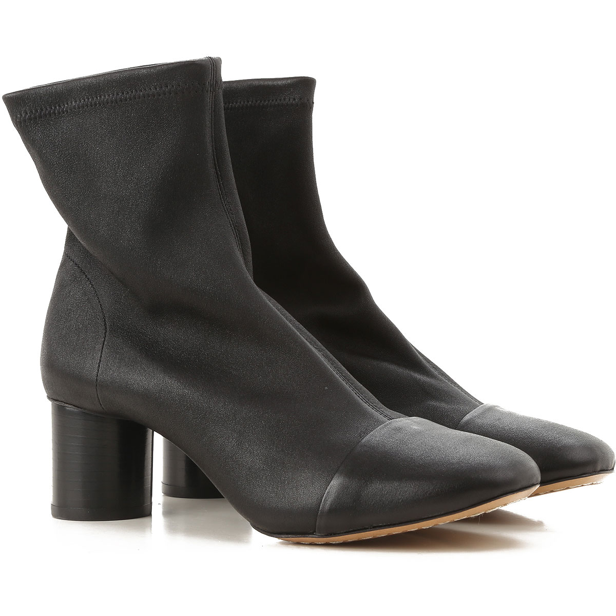 Image of Isabel Marant Boots for Women, Booties, Black, Leather, 2017, 10 5 6 7