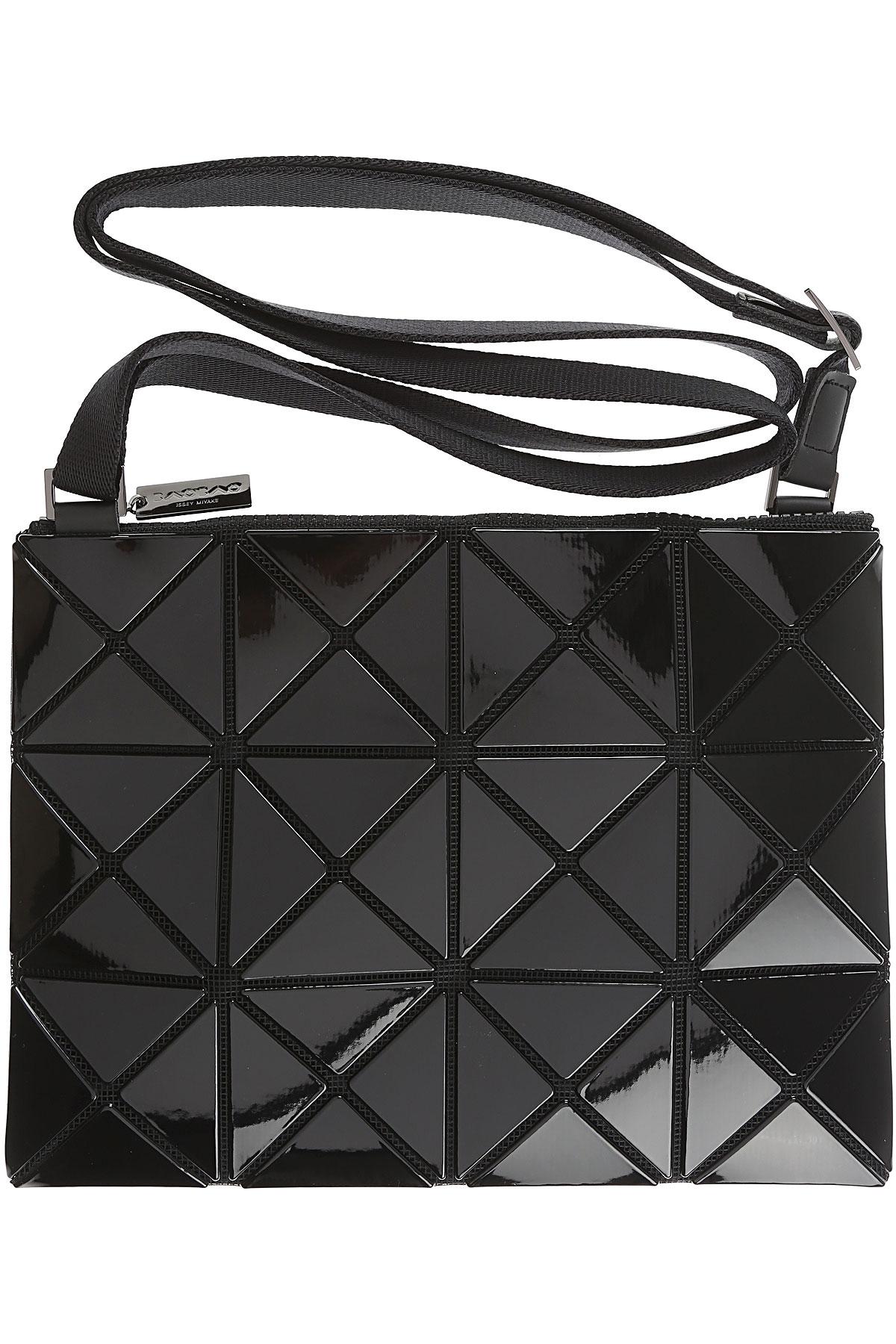 Image of Issey Miyake Shoulder Bag for Women, Bao Bao, Black, polyester, 2017