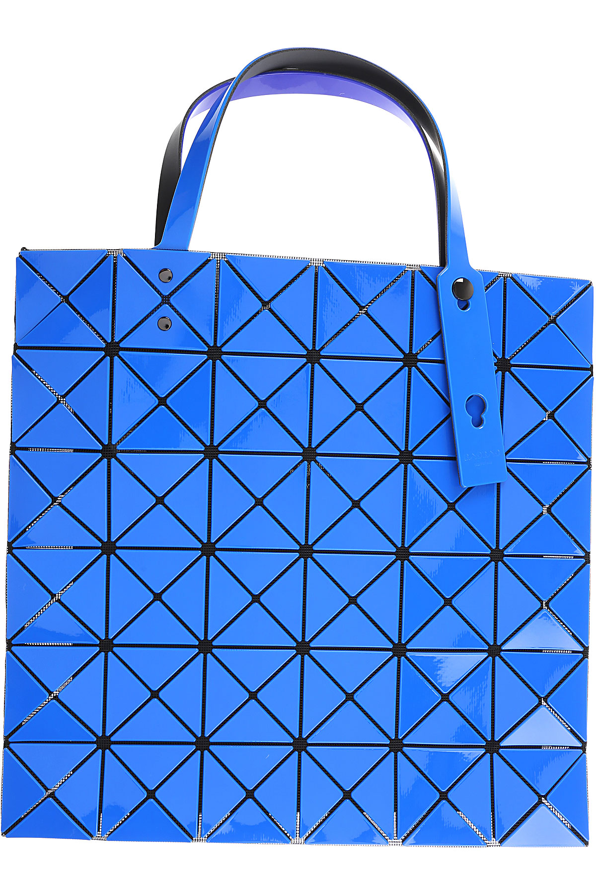 Image of Issey Miyake Shoulder Bag for Women, Bao Bao, Electric Blue, polyester, 2017