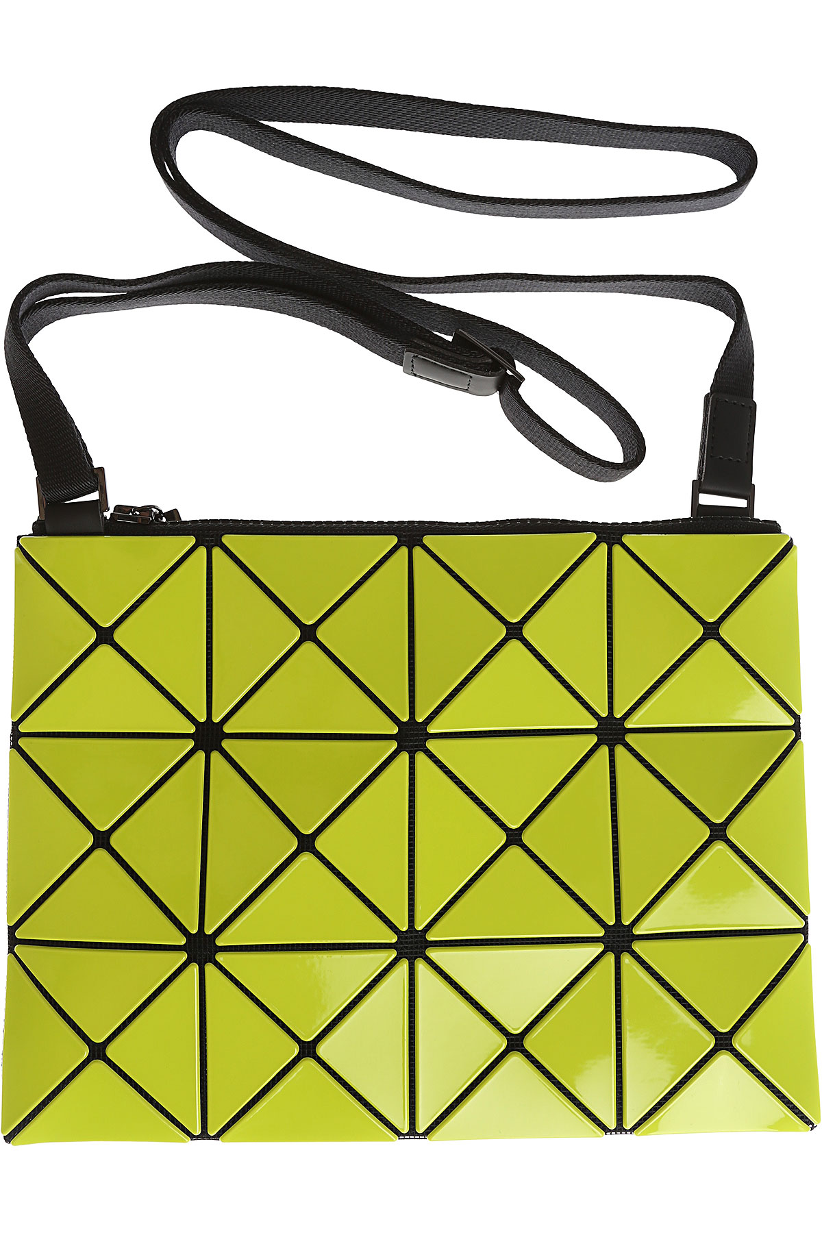 Image of Issey Miyake Shoulder Bag for Women, Bao Bao, Lime, polyester, 2017