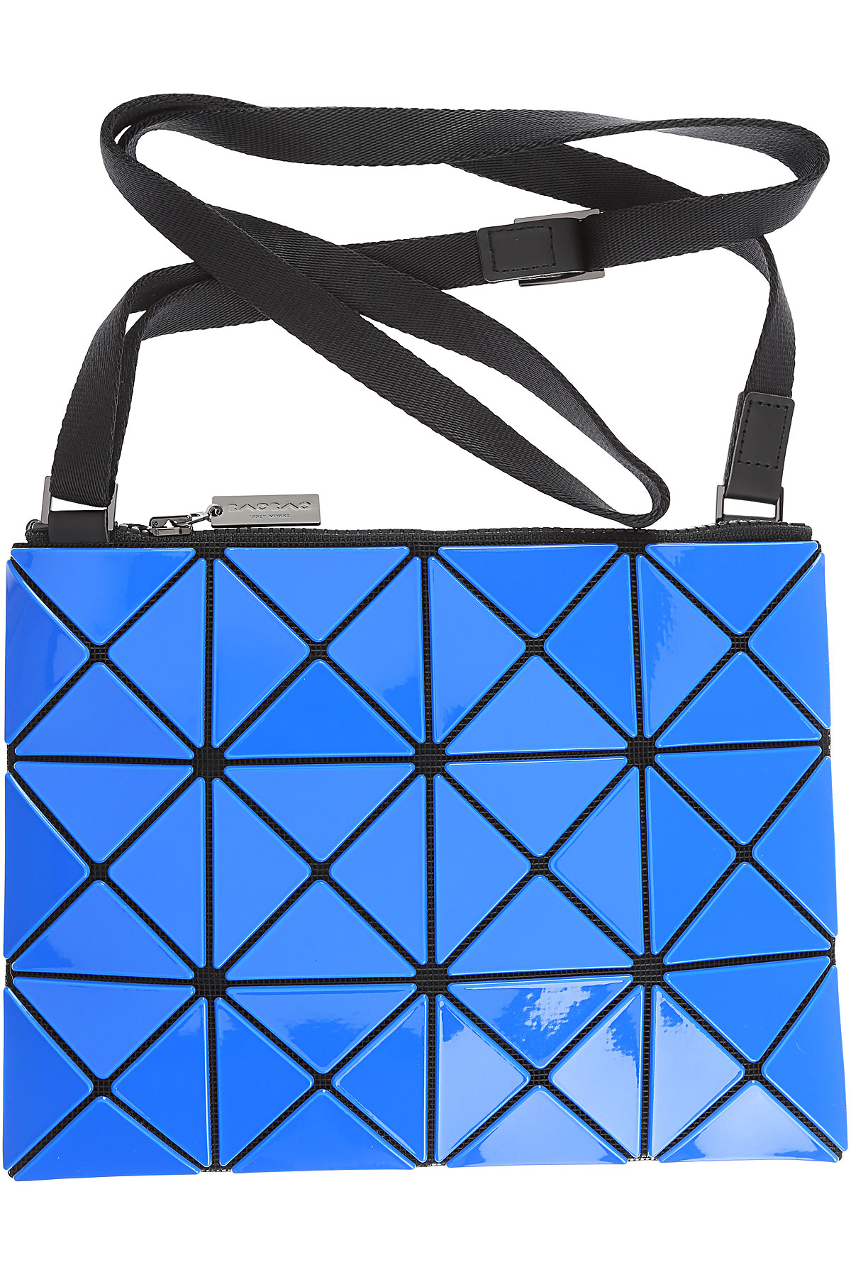 Image of Issey Miyake Shoulder Bag for Women, Bao Bao, Blue, polyester, 2017