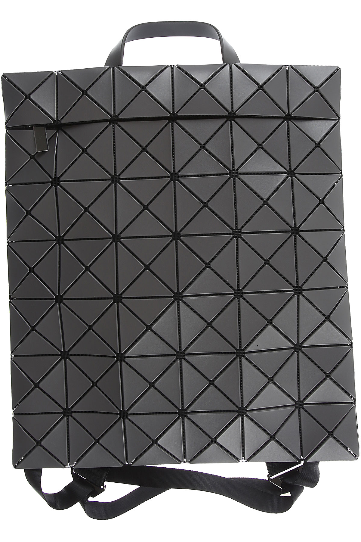 Image of Issey Miyake Backpack for Women, Charcoal, Leather, 2017