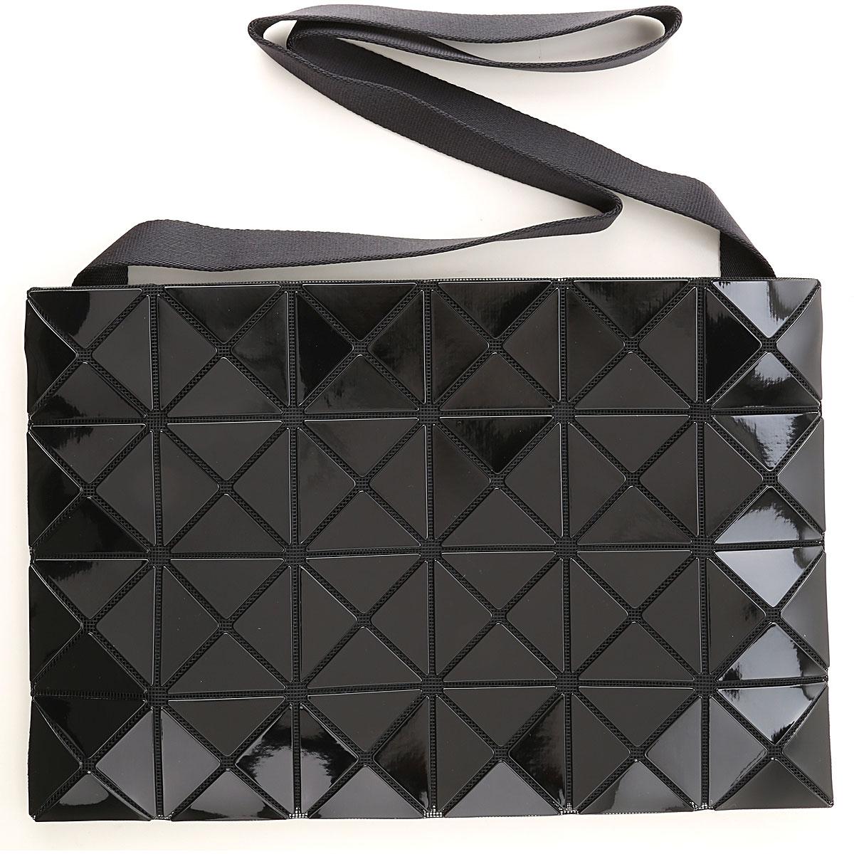 Issey Miyake Shoulder Bag for Women On Sale, Black, Polyvinyl Chloride, 2019