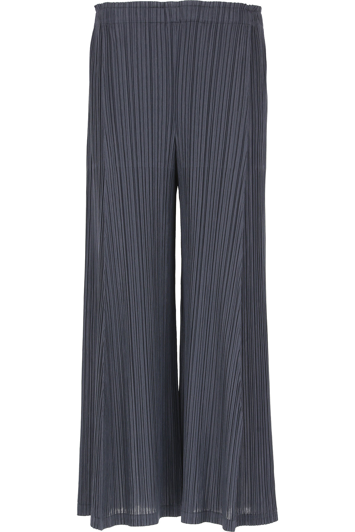 Image of Issey Miyake Pants for Women, Ink Navy, polyester, 2017